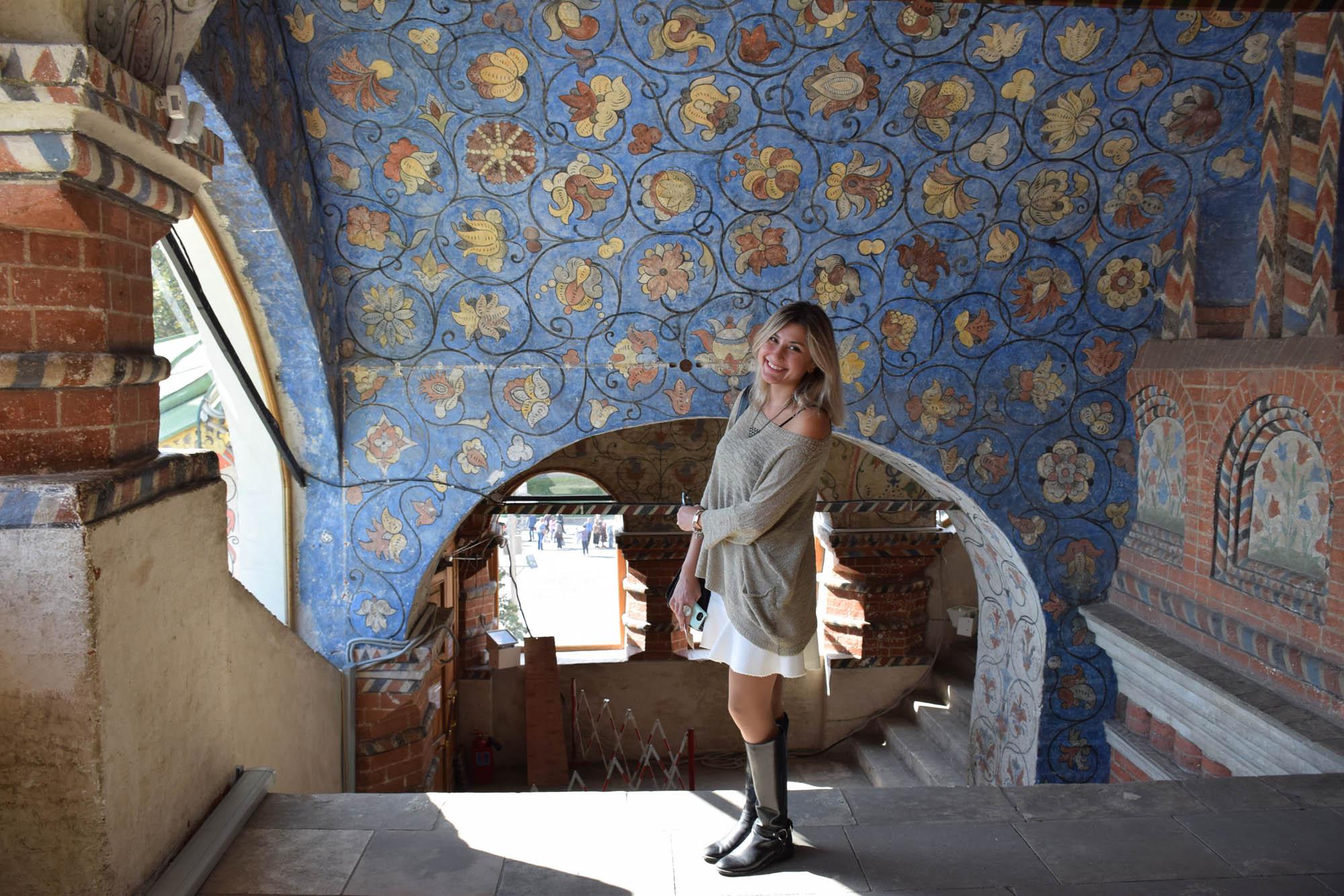 interior Viagem para a Rússia Catedral de sao basilio