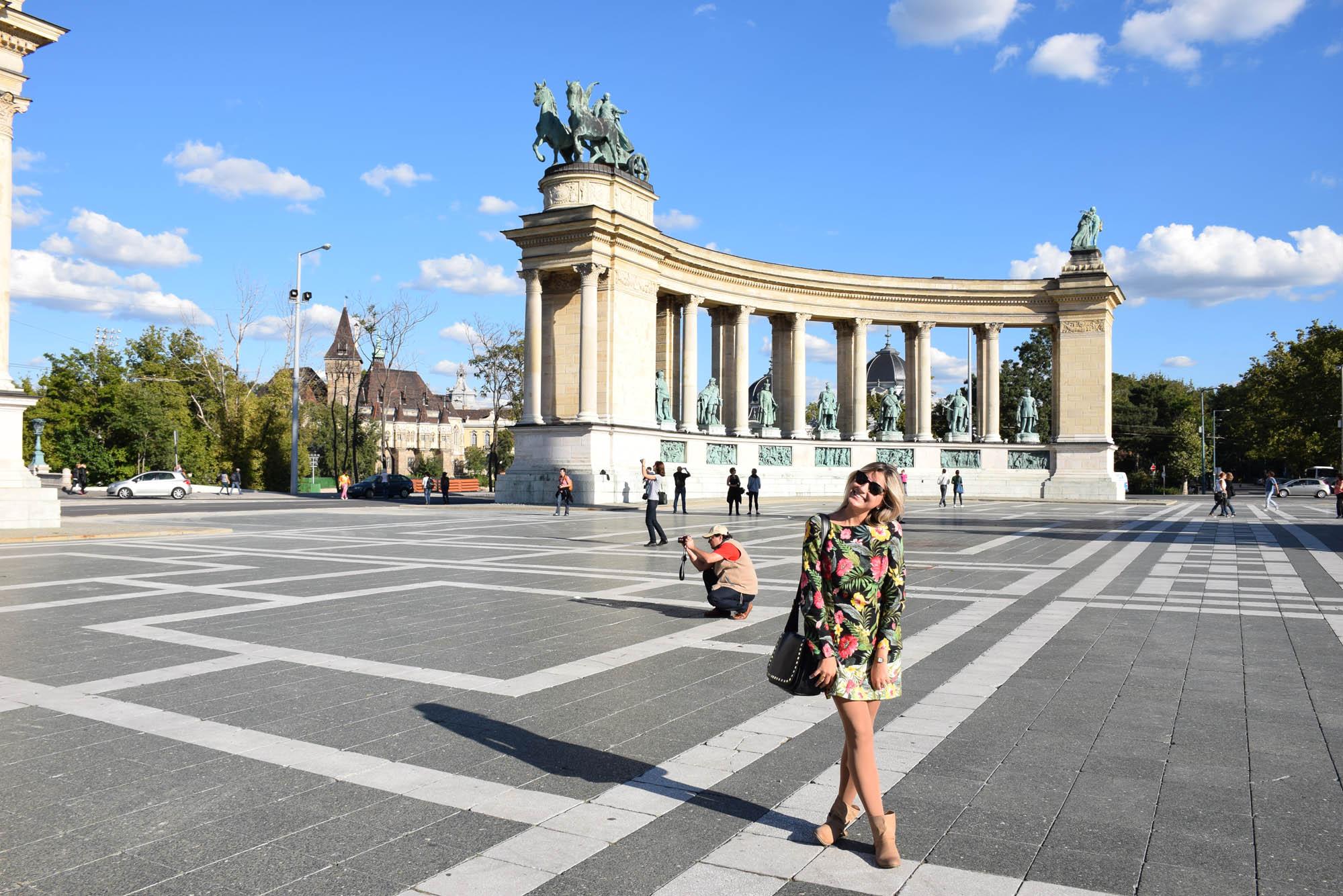 Praça dos Heróis - Budapeste