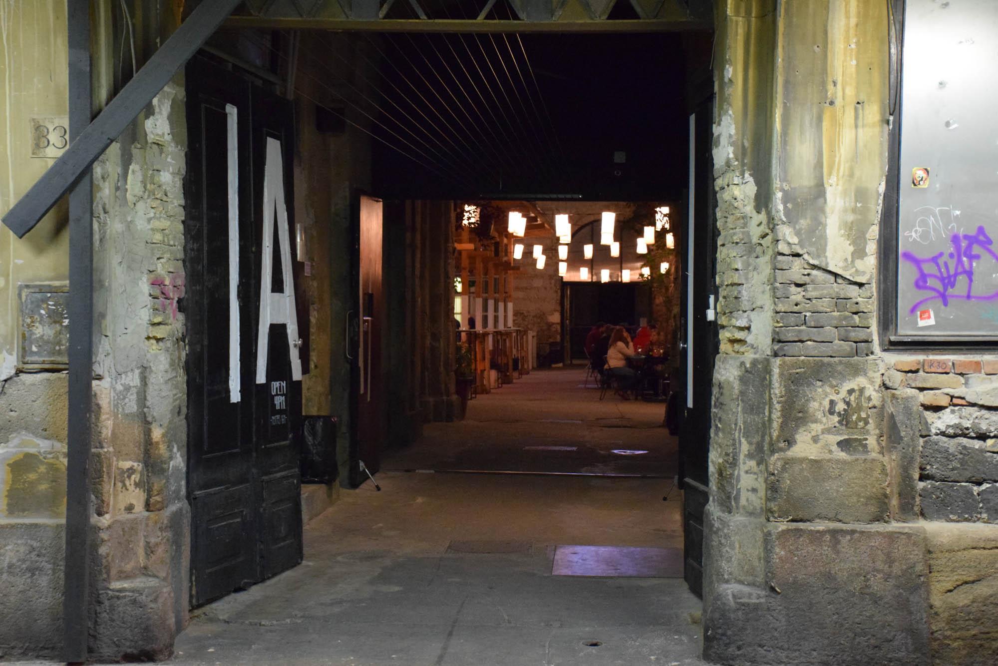 Ankert - ruin pub budapest