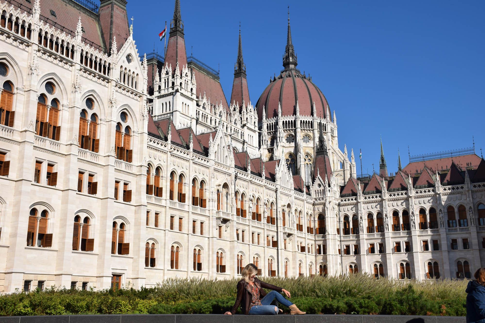 Parlamento Húngaro - que céu é esse??? :D