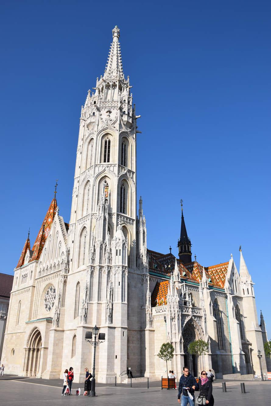 Mátyás Church, em Buda