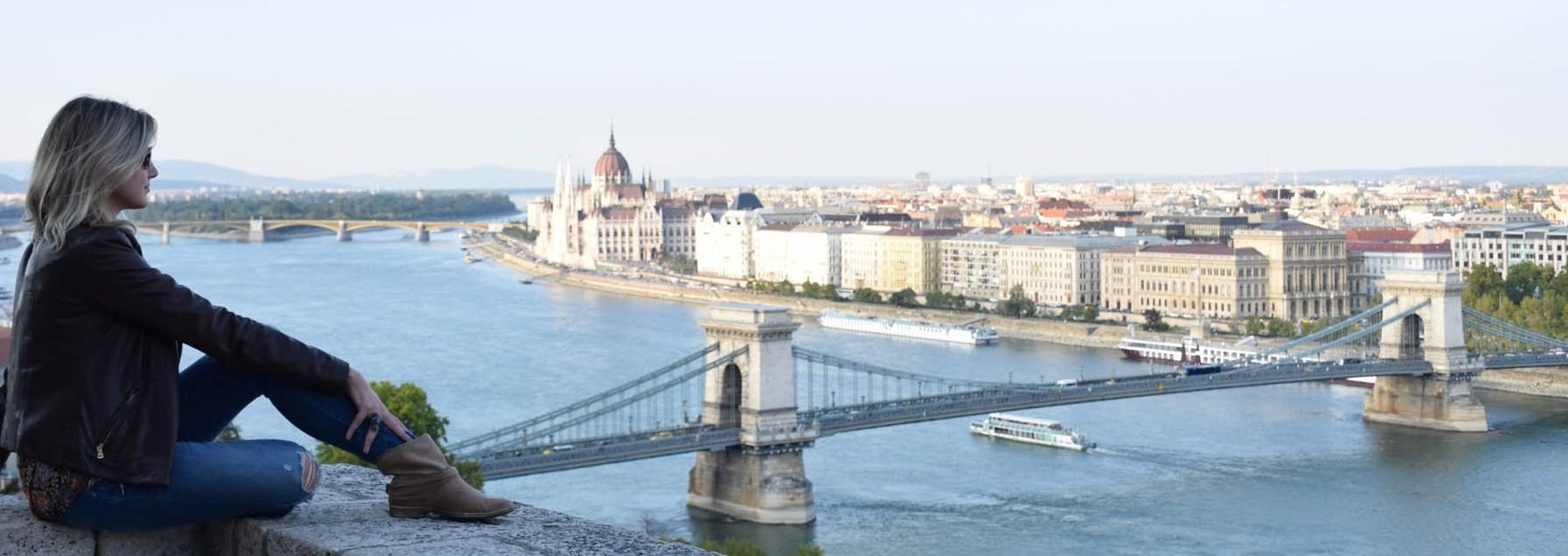 dicas de budapeste - castelo de budapeste - vista ponte - parlamento - lala rebelo