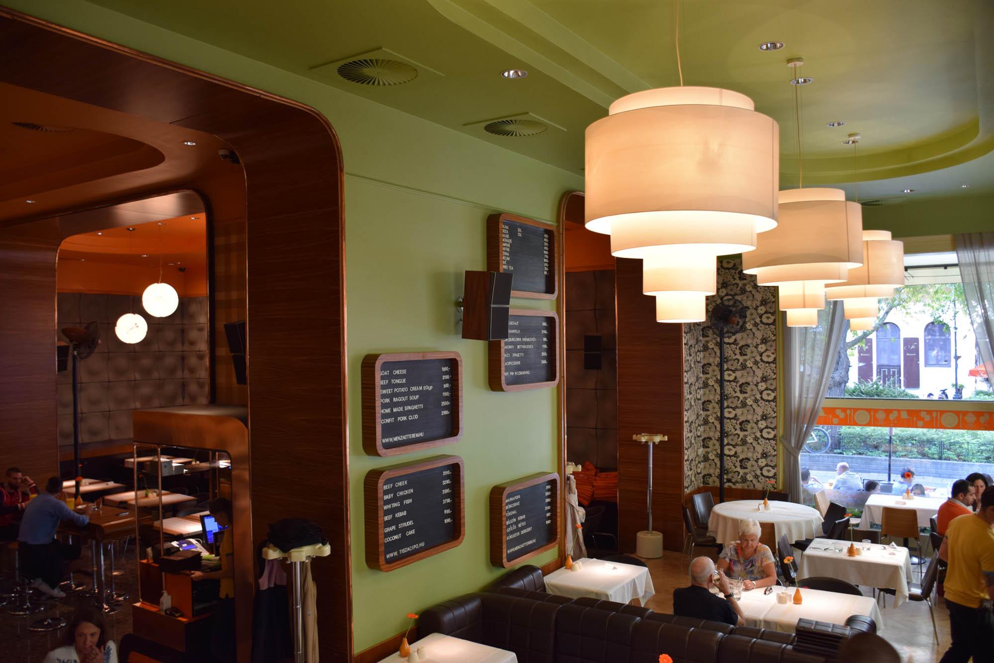 Menza restaurant - budapest - Liszt Ferenc tér