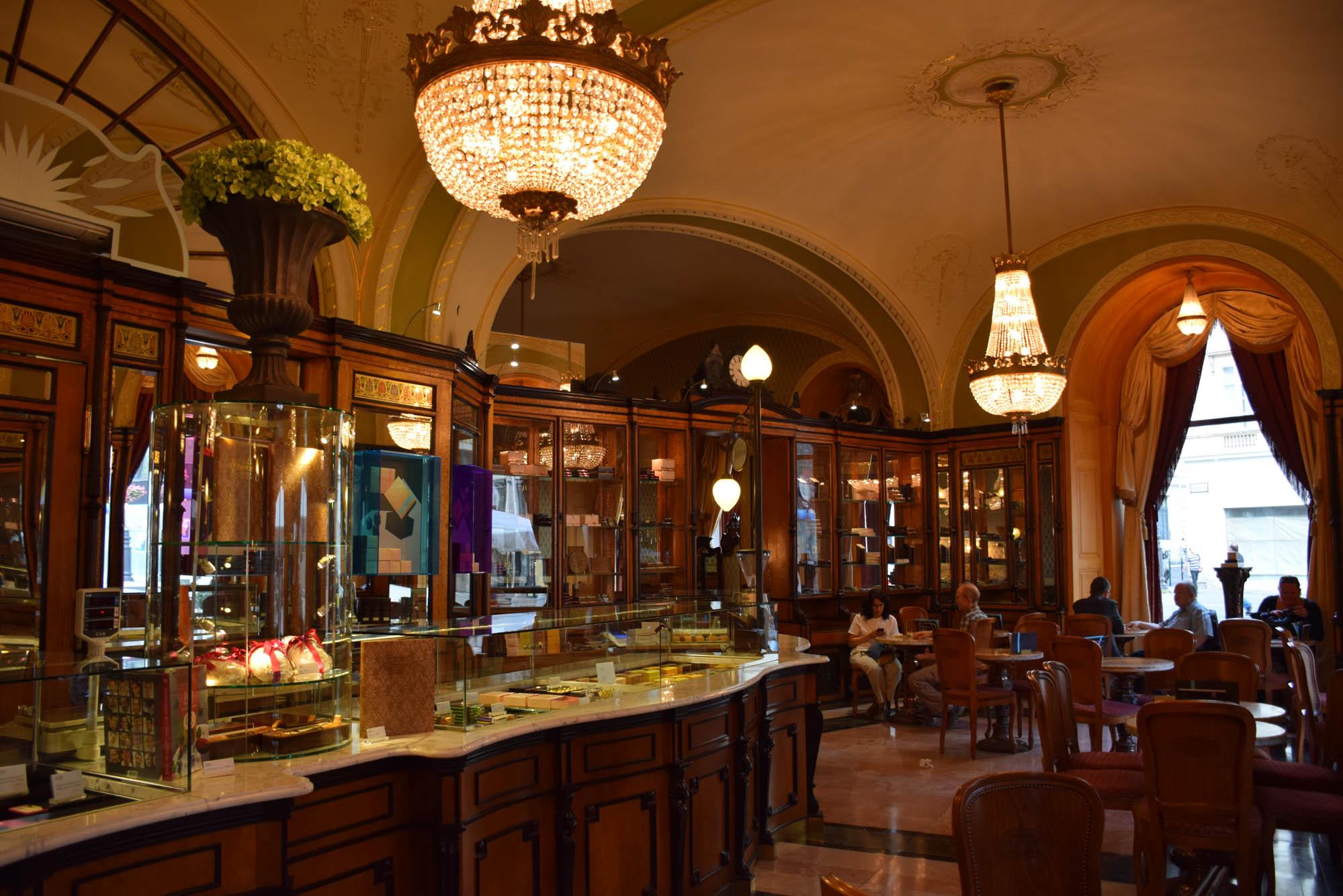 Gerbeaud - restaurants budapest