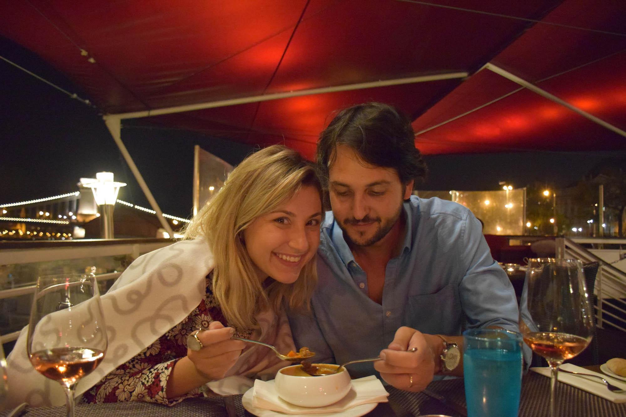 Restaurant Budapest - Spoon - Danube River