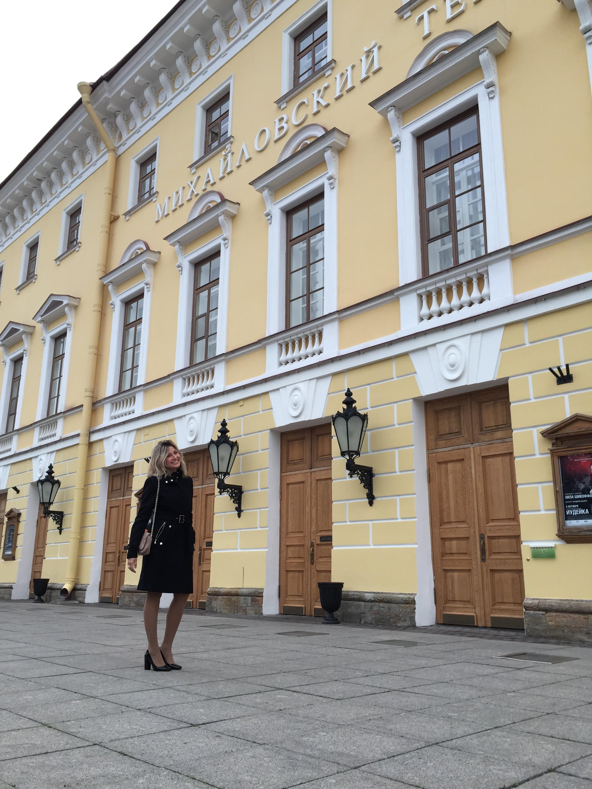 viagem para a rússia - ballet em são petersburgo - russia - Mikhailovsky