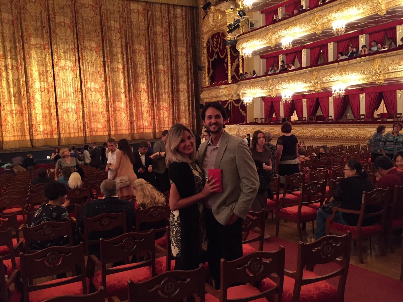 viagem para a rússia - bolshoi ballet - moscou