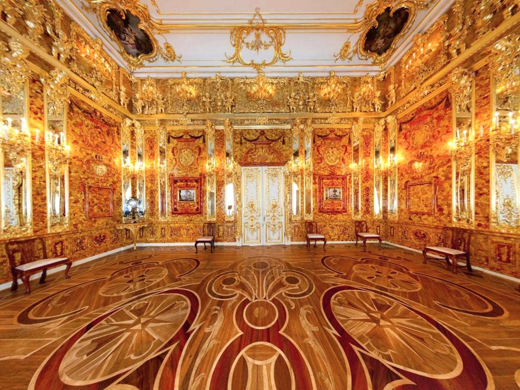 amber room catherine palace st petersburg russia 01