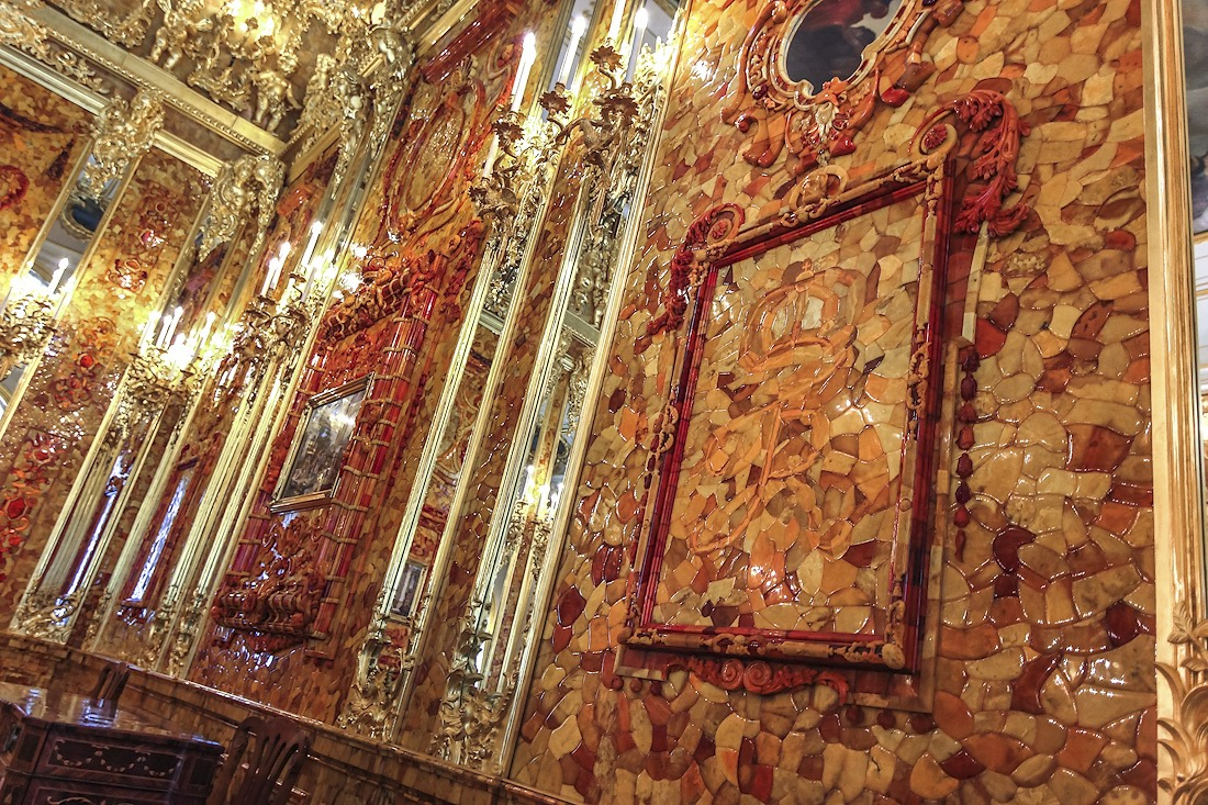 amber room catherine palace st petersburg russia 02