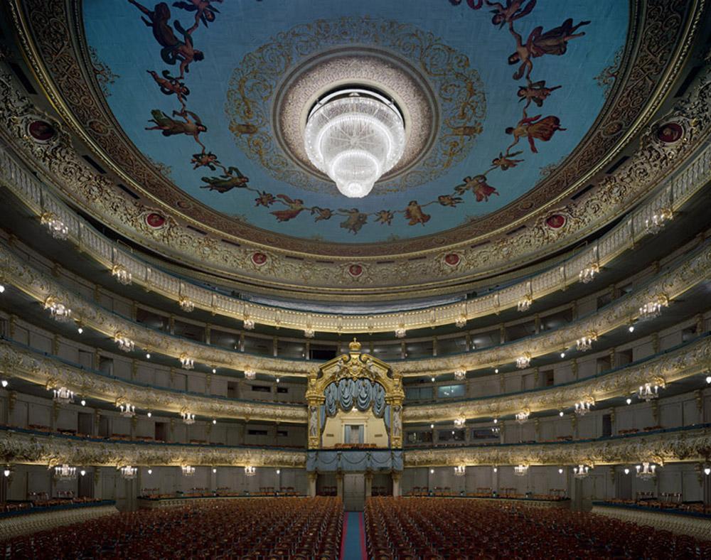 Interior do Teatro Mariinsky (ex Ballet Kirov) | foto: blueskygallery.org