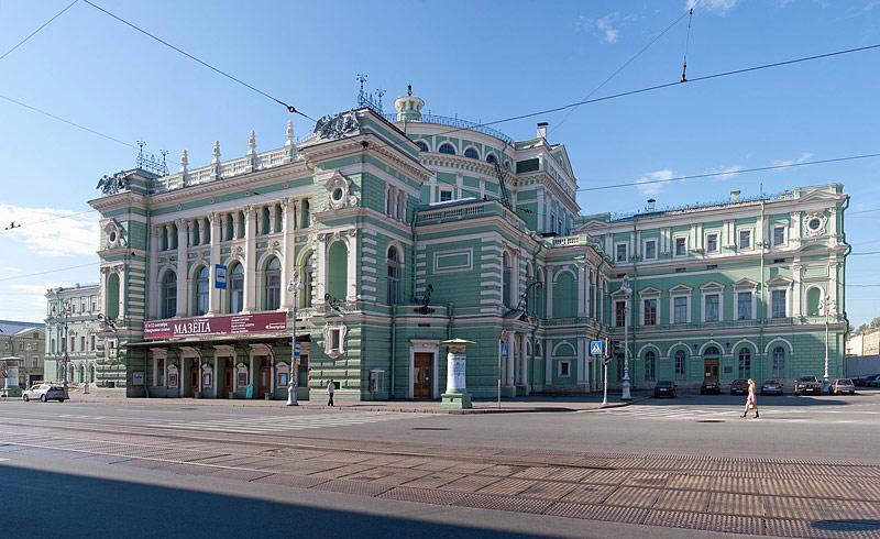Teatro Mariinsky - o melhor ballet de St. Petersburg (antigo Kirov) | foto: saint-petersburg.com
