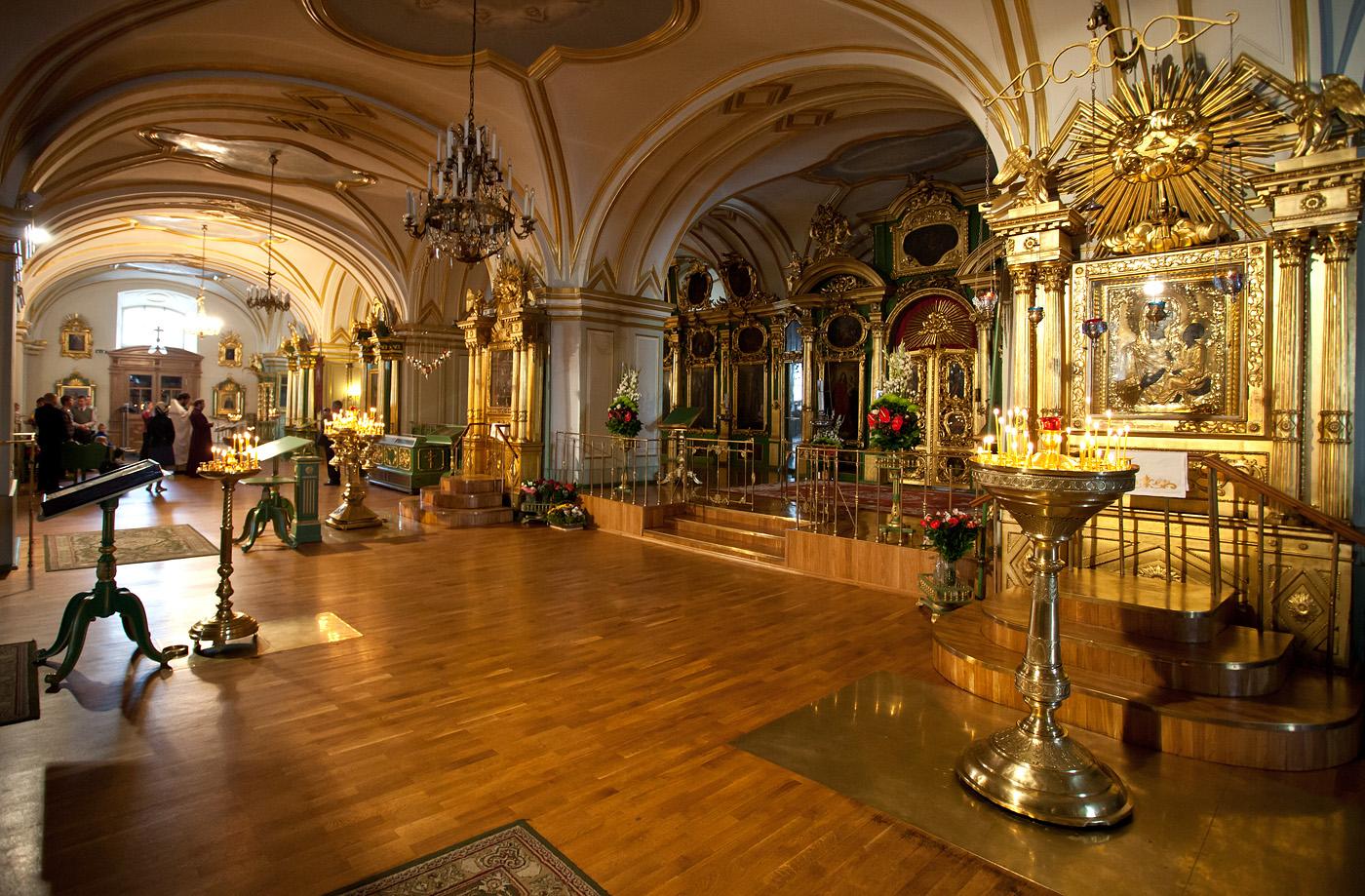 Interior da Catedral de São Nicolas em São Petersburgo | foto: tunliweb.no