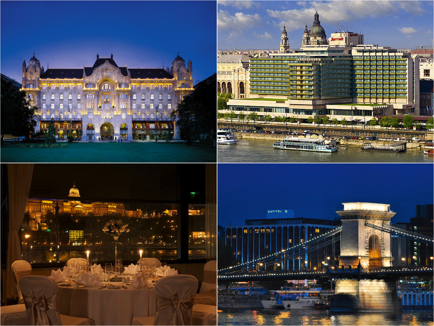 hoteis budapeste rio danubio four seasons - marriott - intercontinental - sofitel
