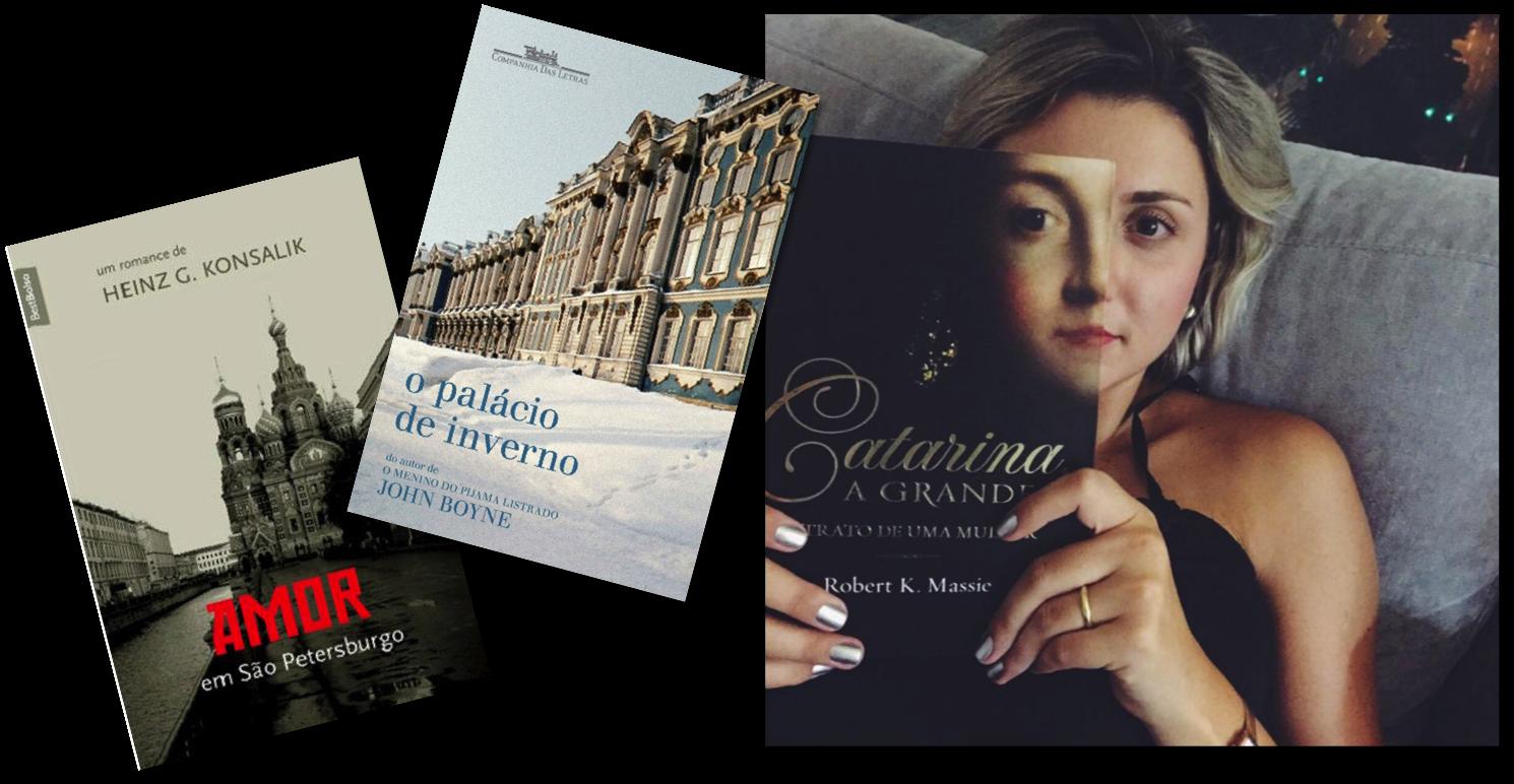 Livros recomendados - e eu me transformando na Catarina...