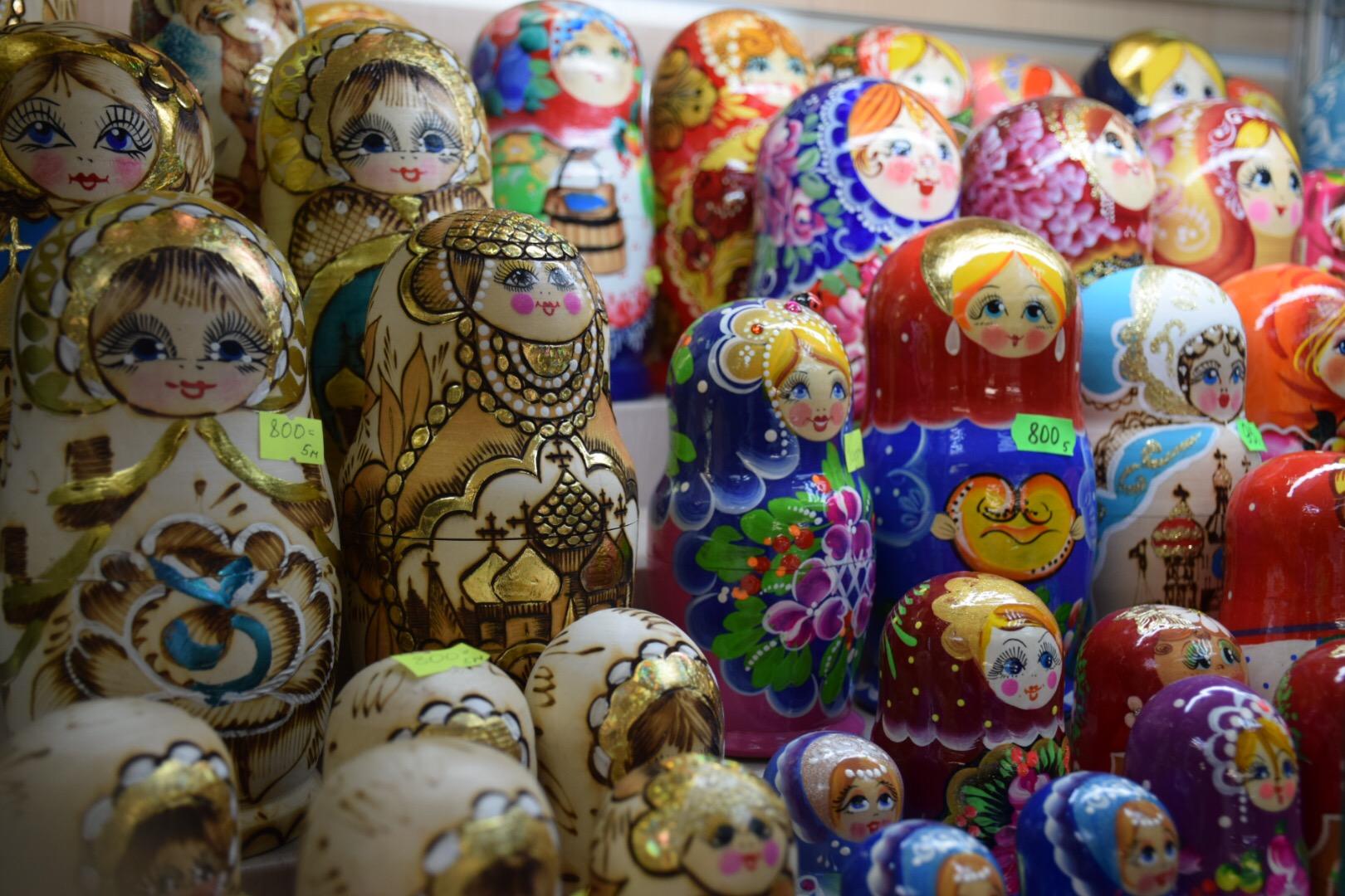 matrioshkas russas souvenir comprar dicas