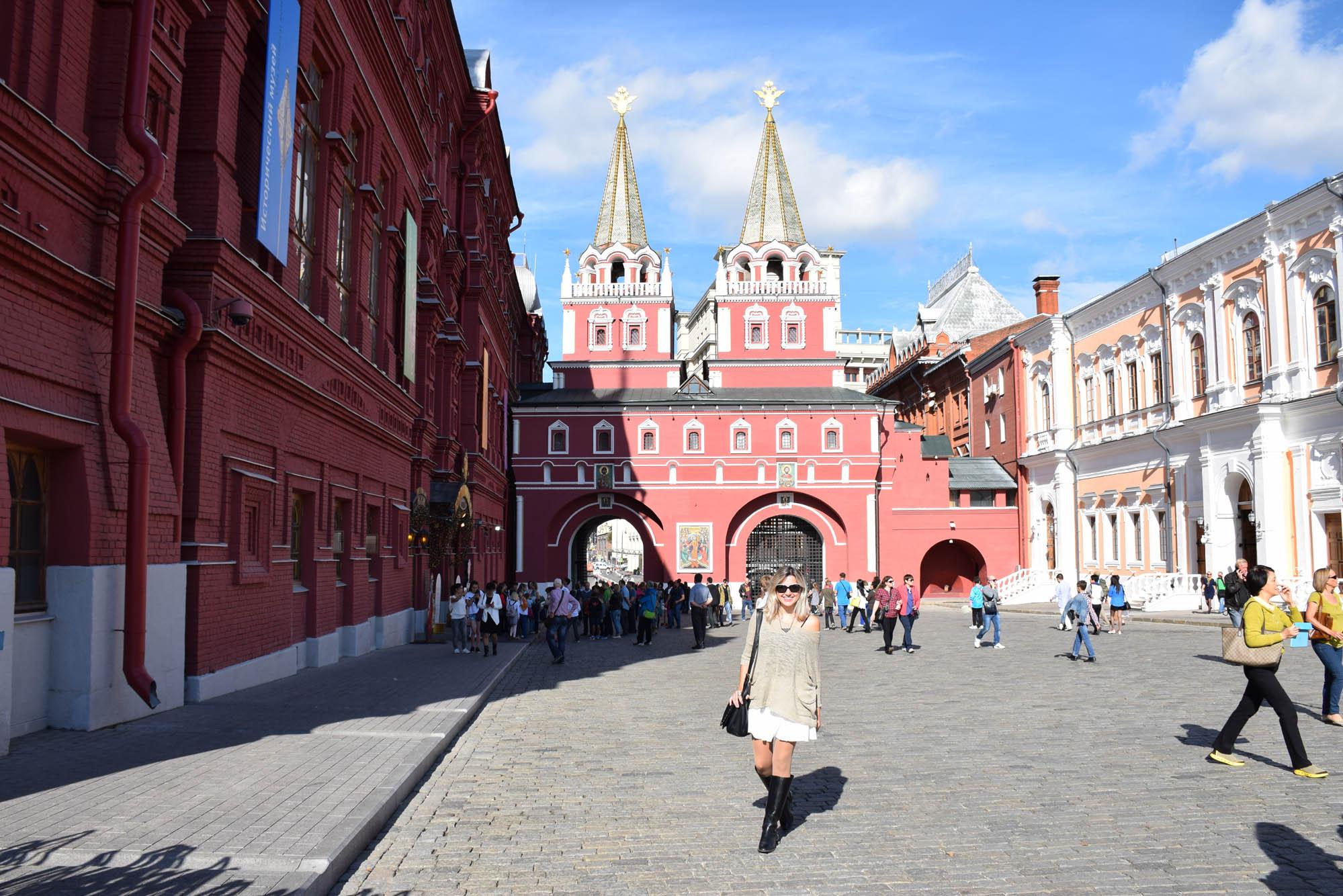 Viagem para a Rússia - Praça Vermelha - Moscou