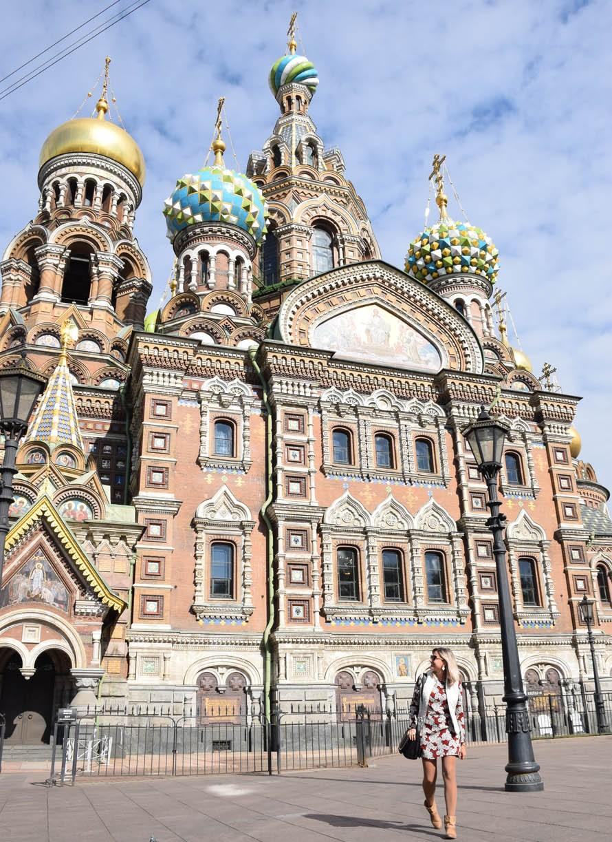 viagem para a rússia - Igreja do Sangue Derramado - São Petersburgo