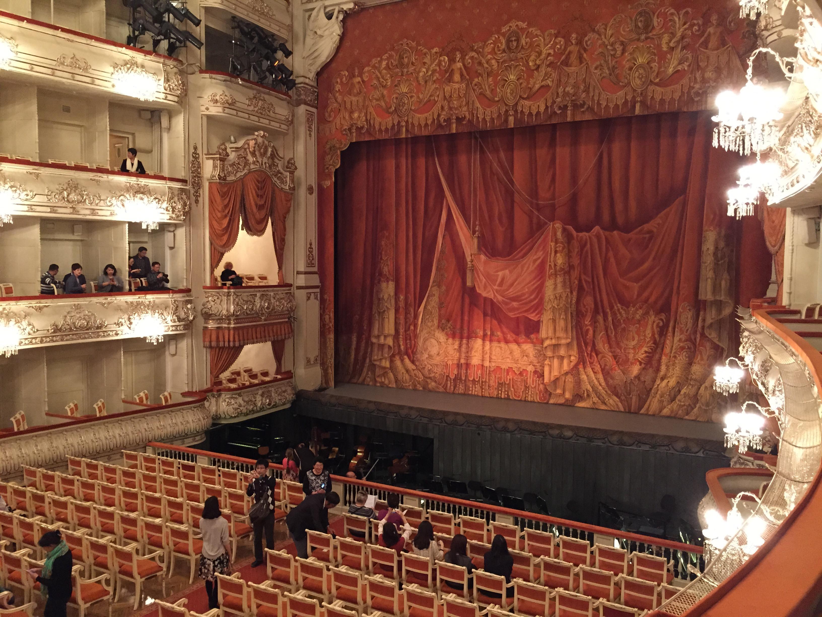 Mikhailovsky Theater, São Petersburgo, Rússia