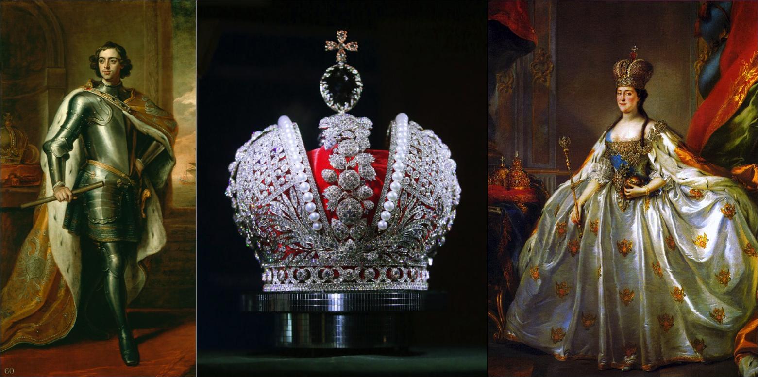 Pedro, O Grande | A coroa imperial a partir de Catarina II | Catarina, A Grande
