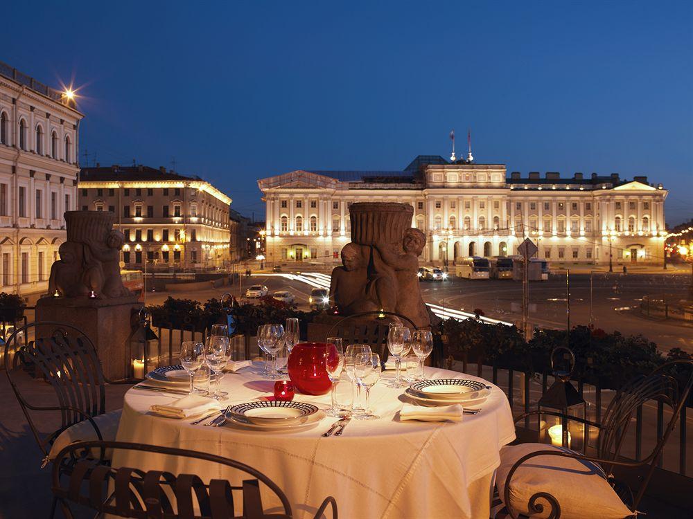 Linda vista do Astoria Hotel São Petersburgo | foto: hotels.com