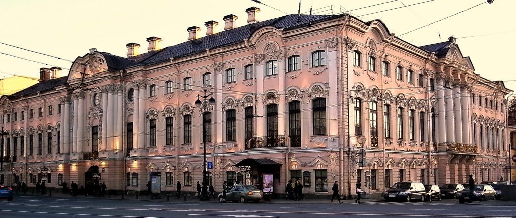Palácio Stroganov na Nevsky Prospekt | foto: panoramio.com
