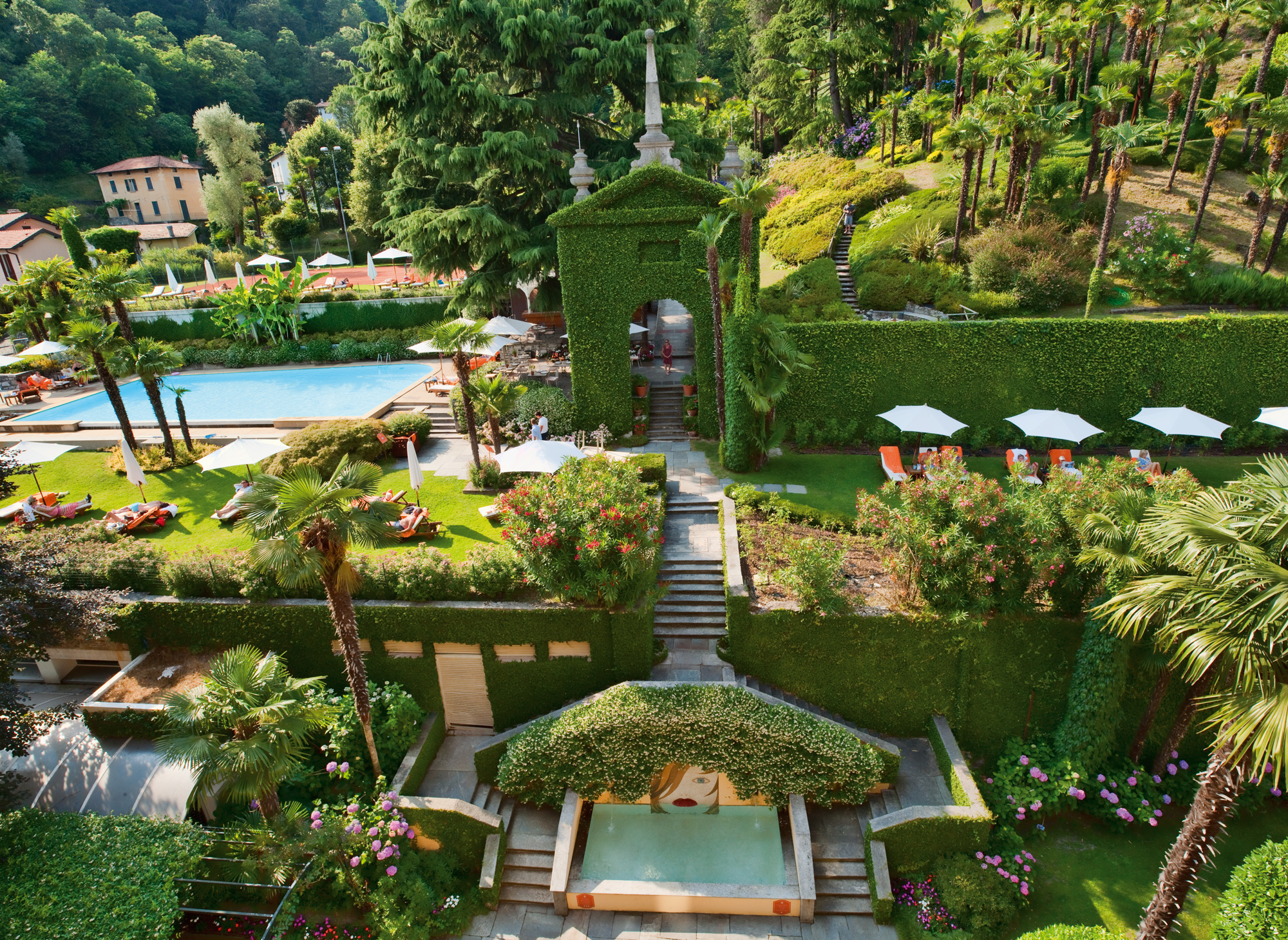 Grand Hotel Tremezzo Lago di Como Italia park