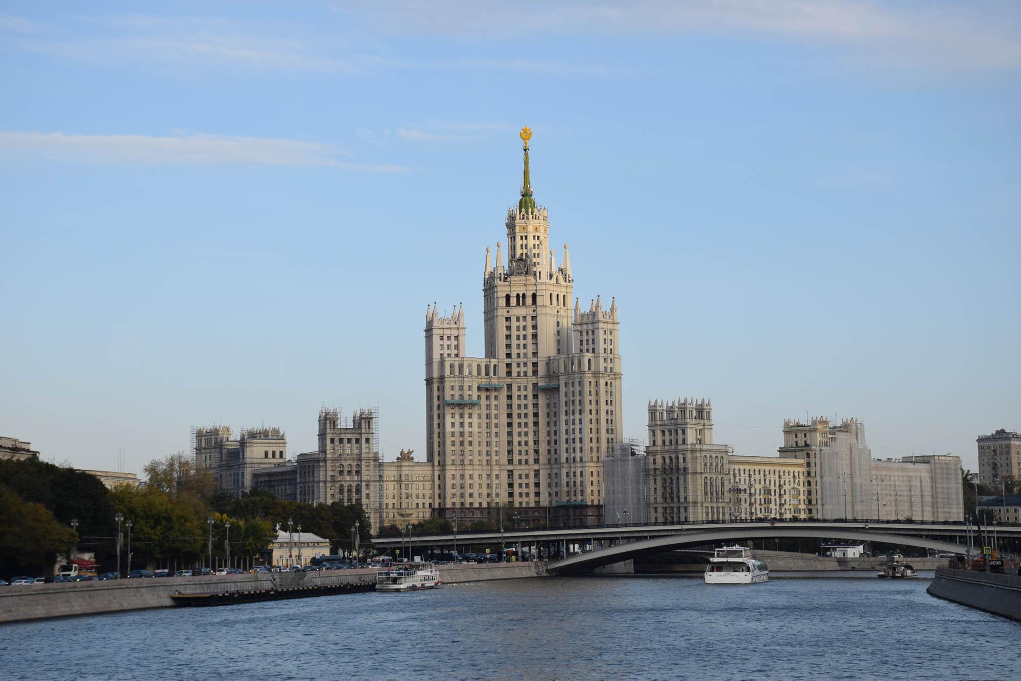 dicas de moscou russia edificios stalin comunismo