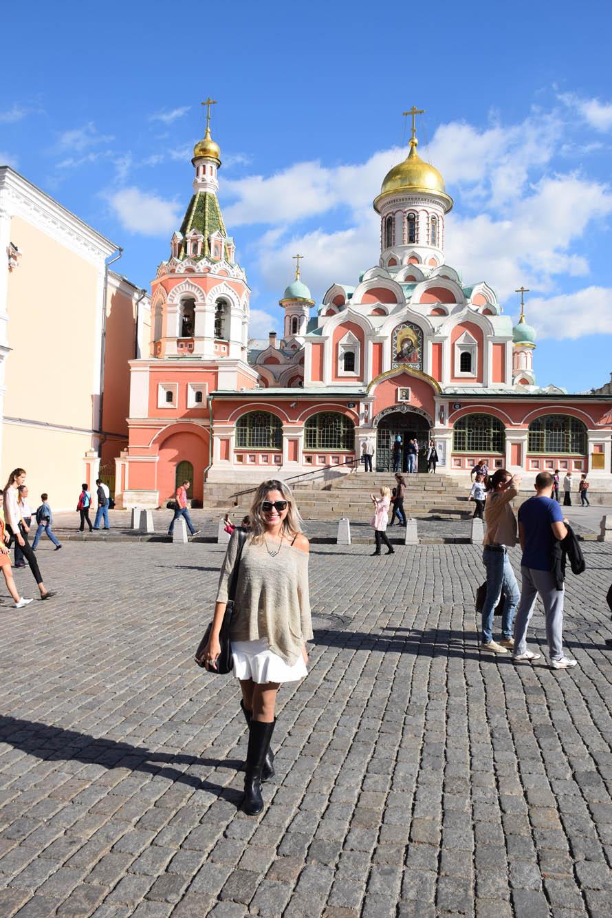 catedral de kazan praça vermelha moscou russia