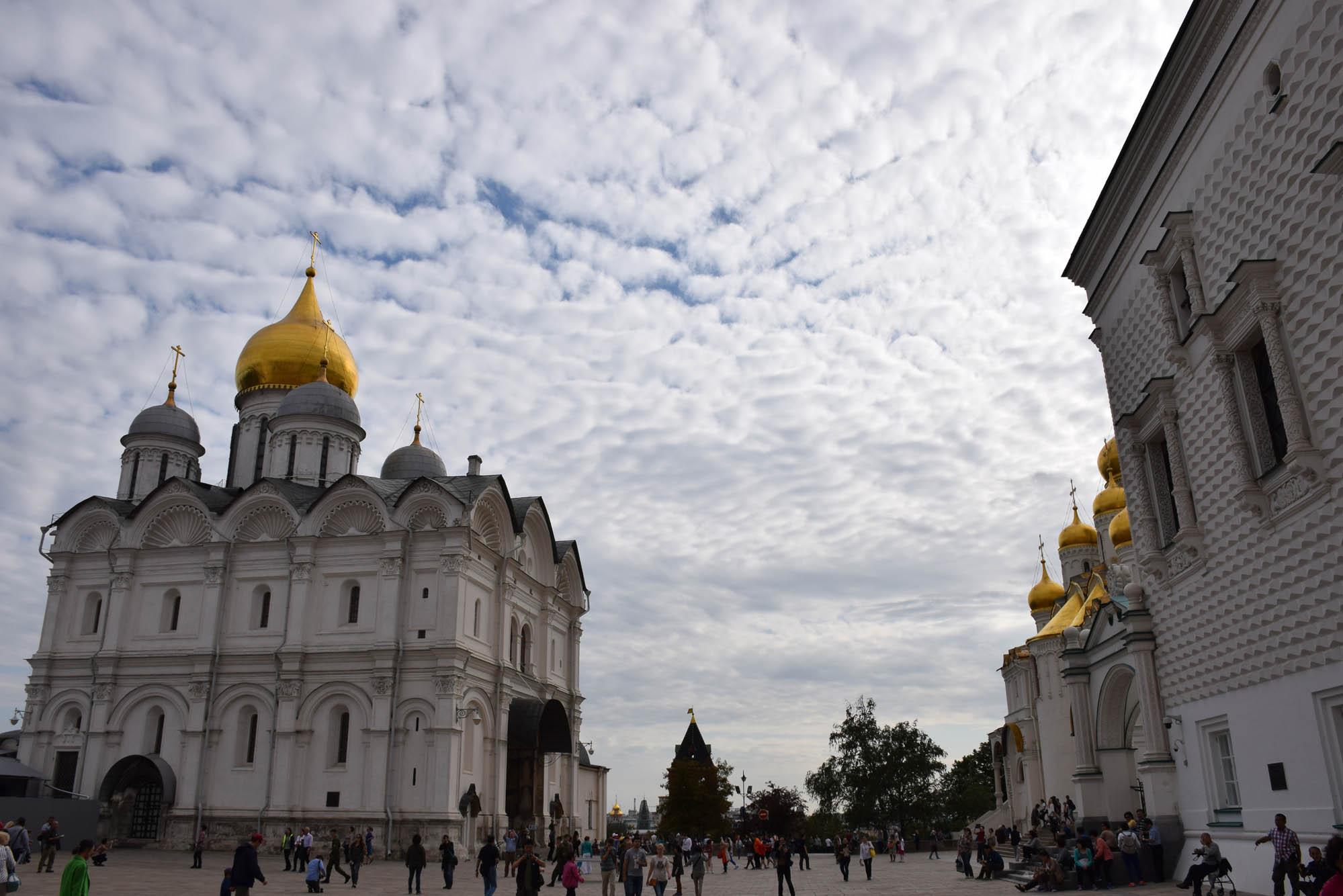 praca das catedrais kremlin moscou