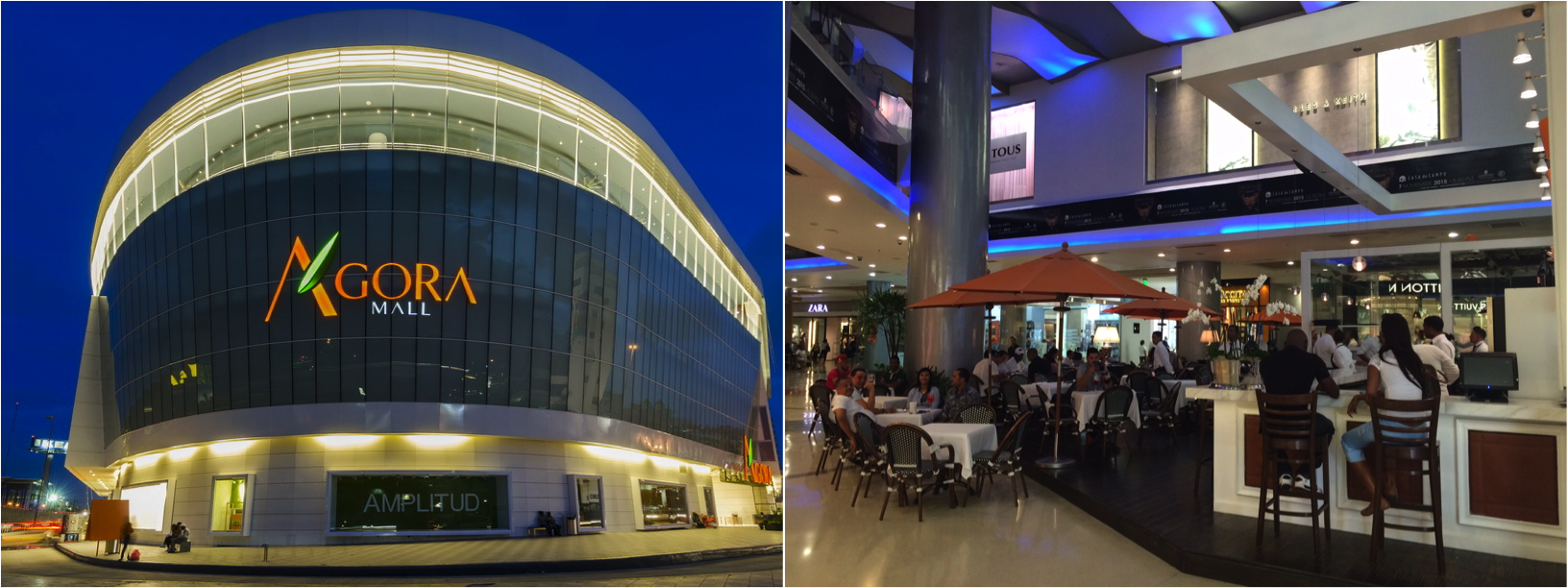 Ágora Mall & Blue Mall, shoppings em Santo Domingo
