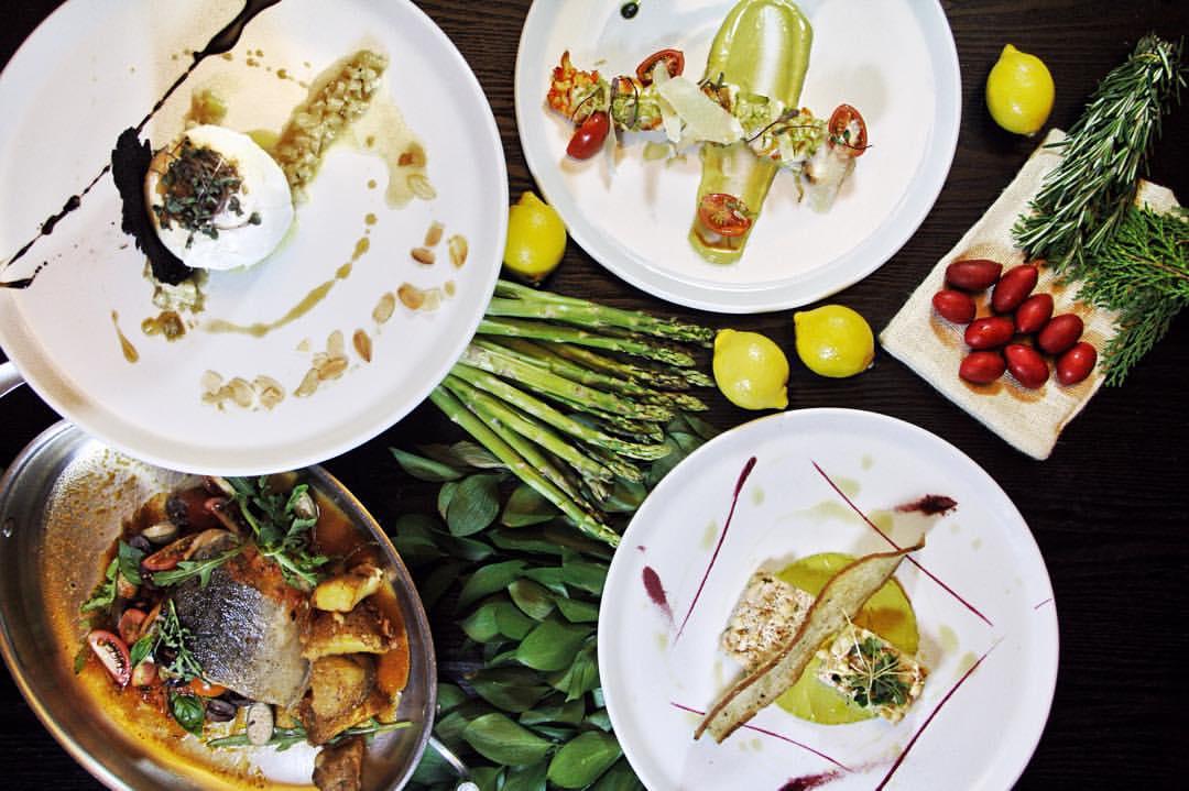 Alguns pratos da Bottega Fratelli - restaurante italiano em Santo Domingo | foto: facebook.com/bottegafratellird