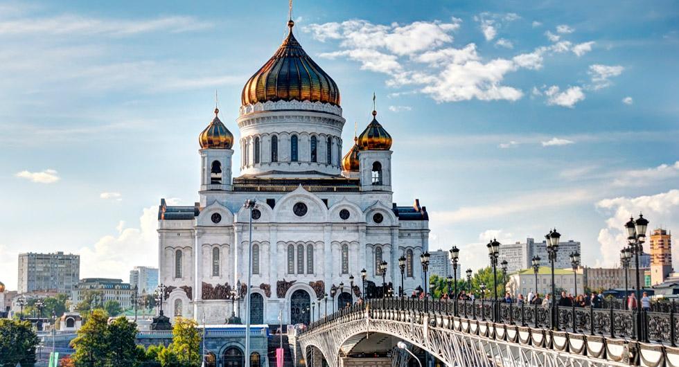 Catedral de Cristo Salvador, Moscou | foto: platinumturismo.com.br