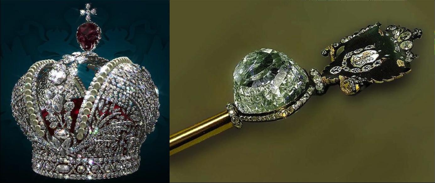 Coroa de Catarina A Grande e o Diamante Orlov