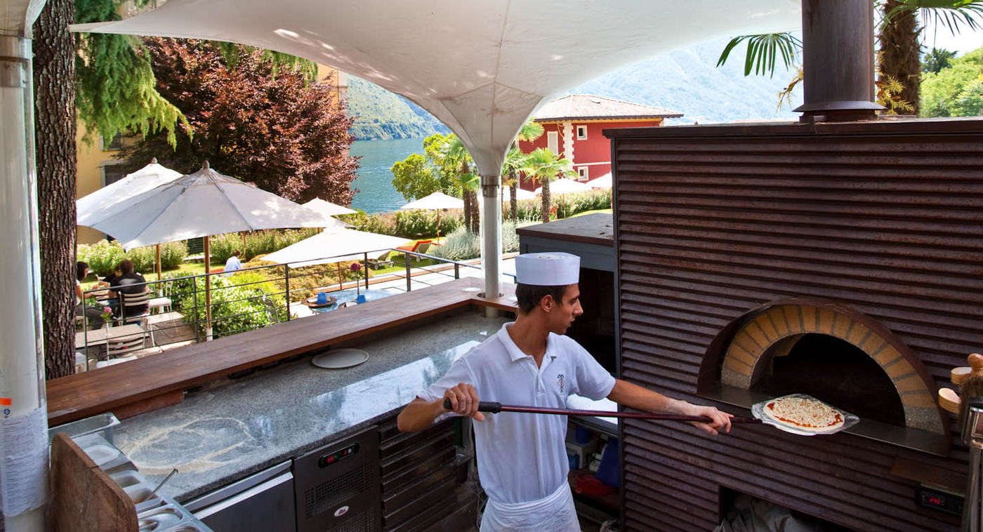 Grand Hotel Tremezzo pizza