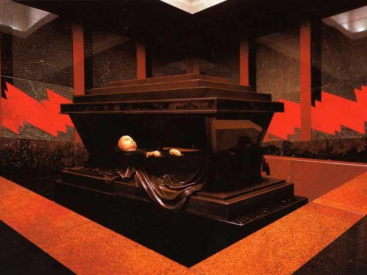 mausoleu lenin praca vermelha moscou