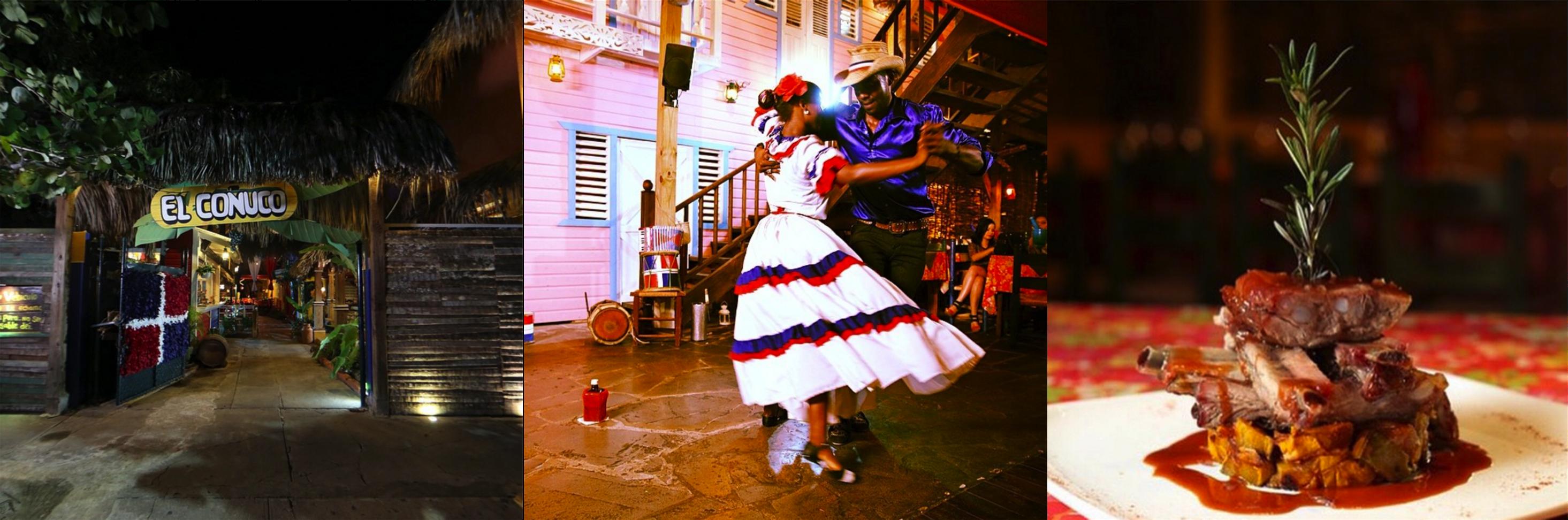 Restaurante típico dominicano El Conuco - Santo Domingo