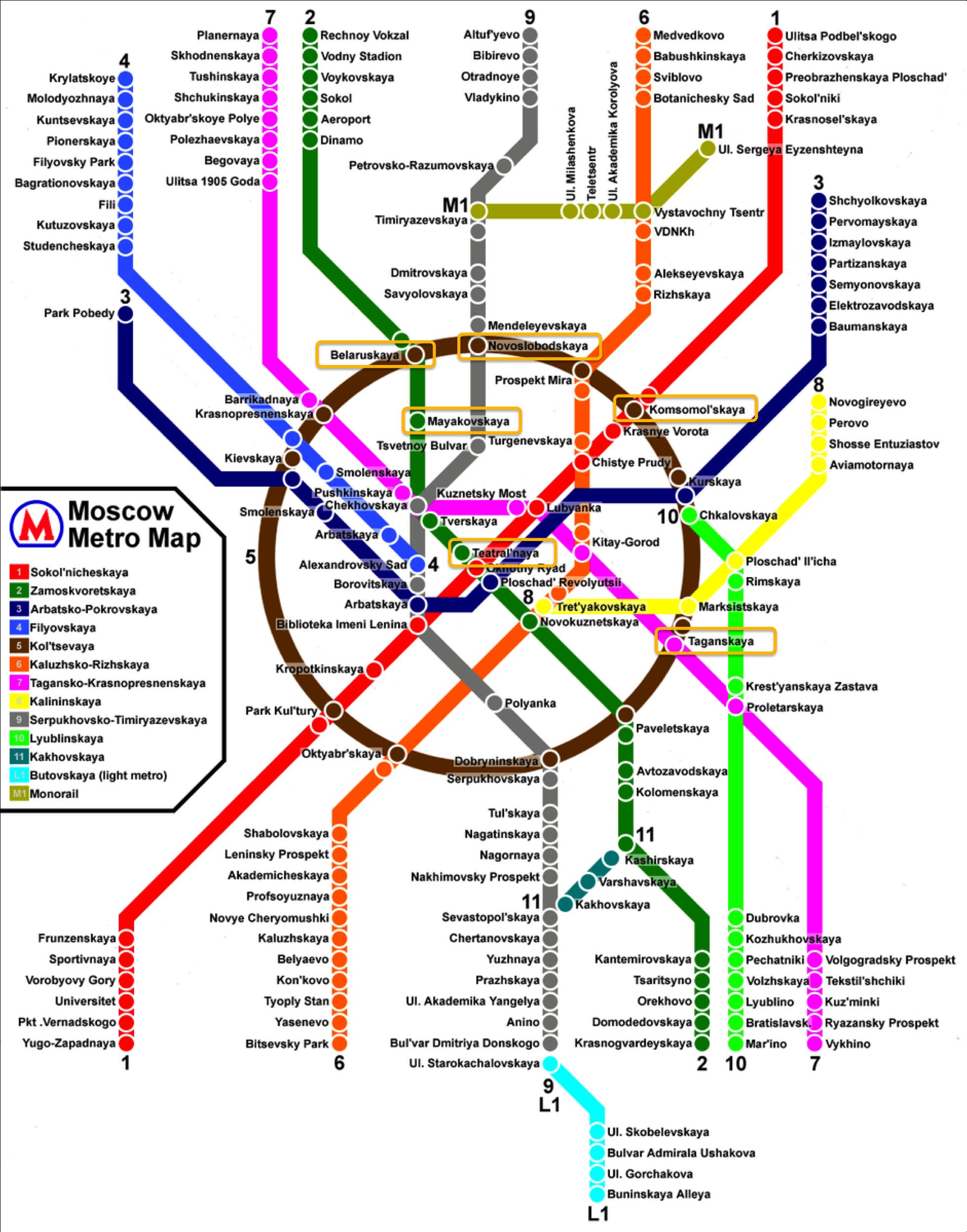 tour metro moscou - estações mais bonitas - palacios para o povo