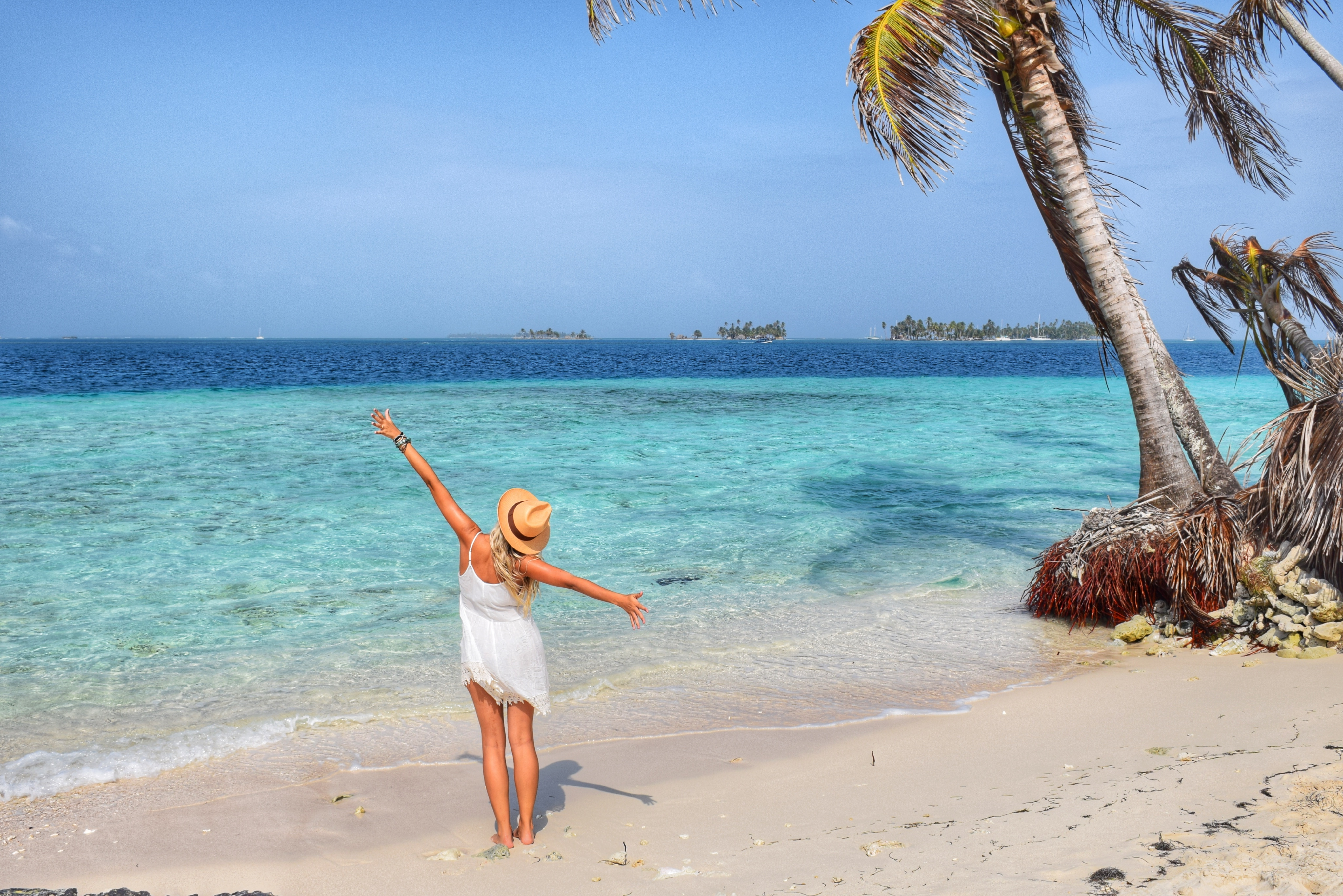 Isla Pelicano - San Blas - Panamá