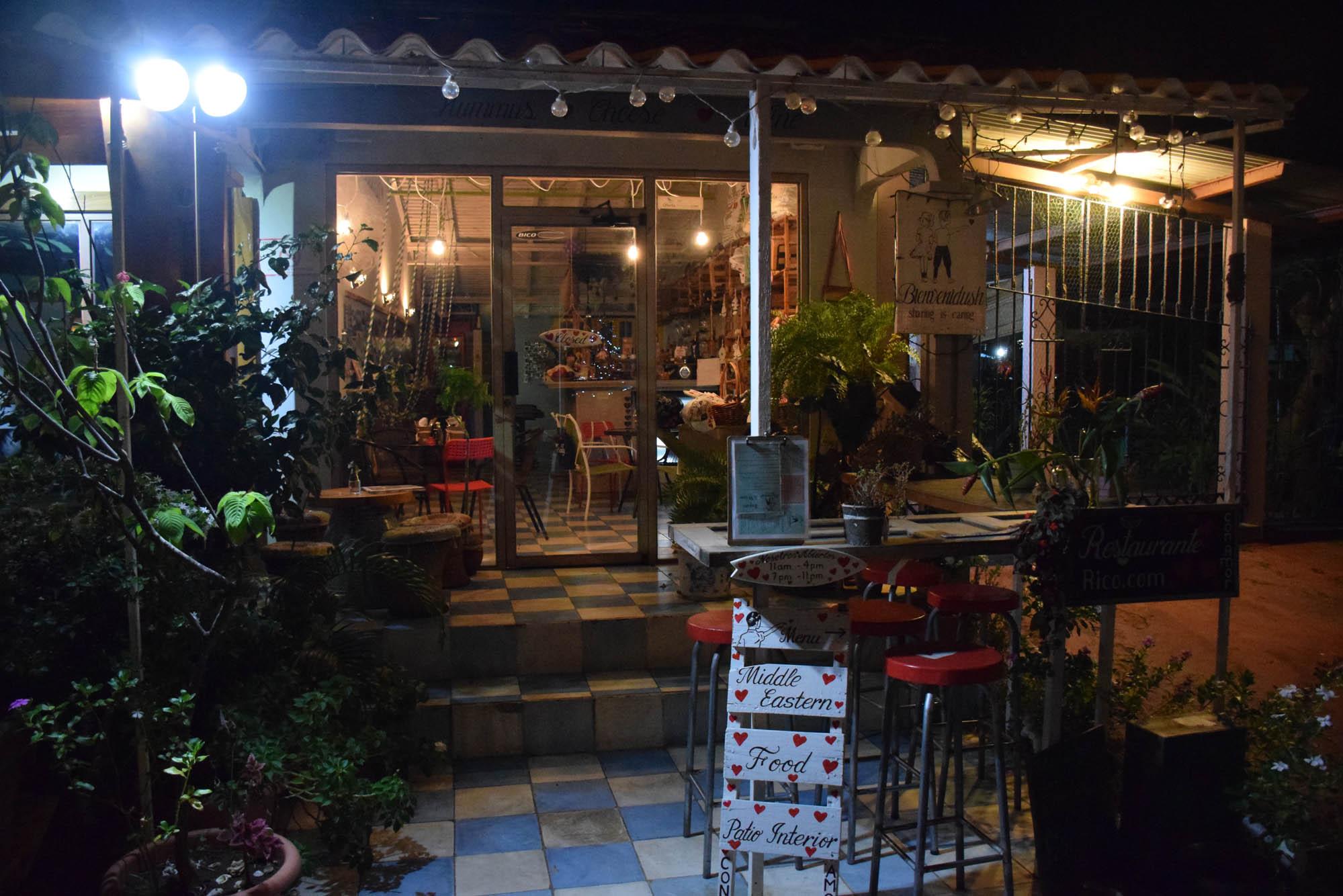 Restaurante, bar e cafeteria Bienvenidush, em Pedasí - Panamá
