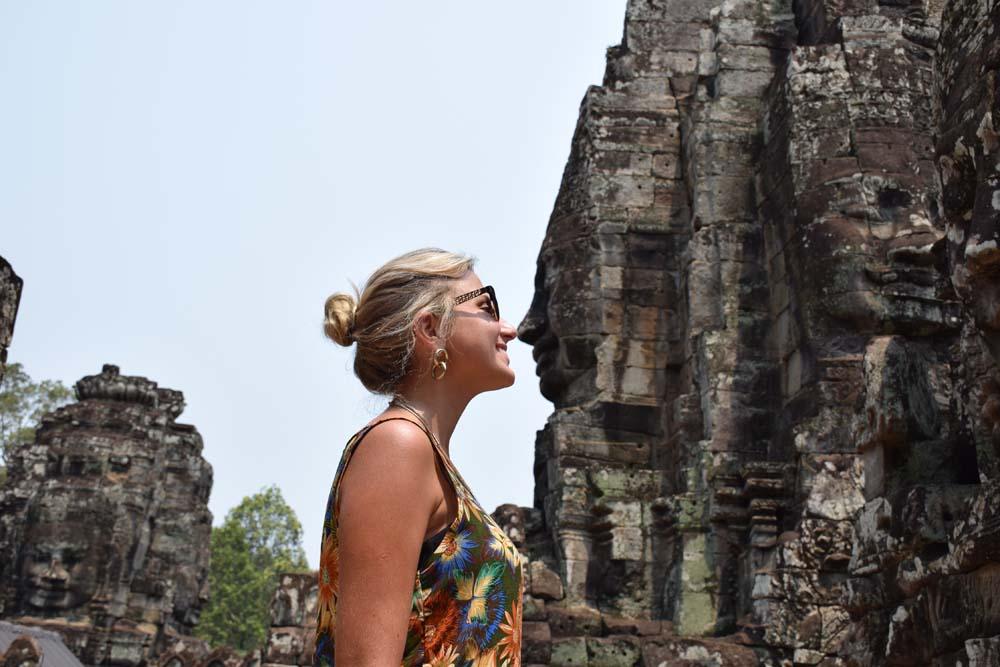 Templo Bayon - Angkor Thom - Siem Reap - Camboja