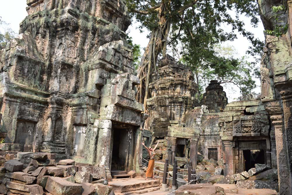 Templo Ta Prohm - Angkor Thom - Siem Reap - Camboja