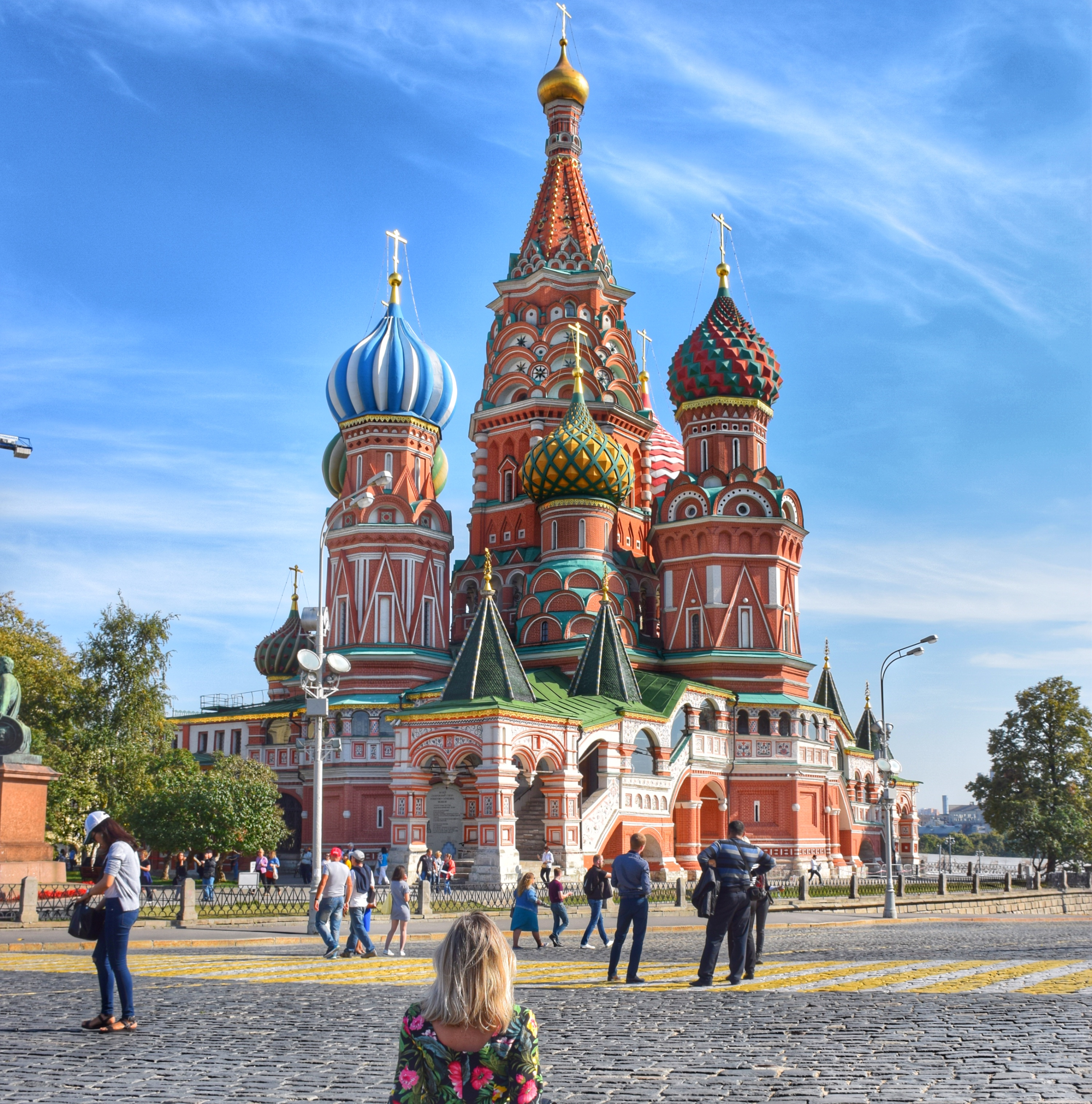 Catedral de São Basílio - Praça Vermelha - Moscou - Rússia
