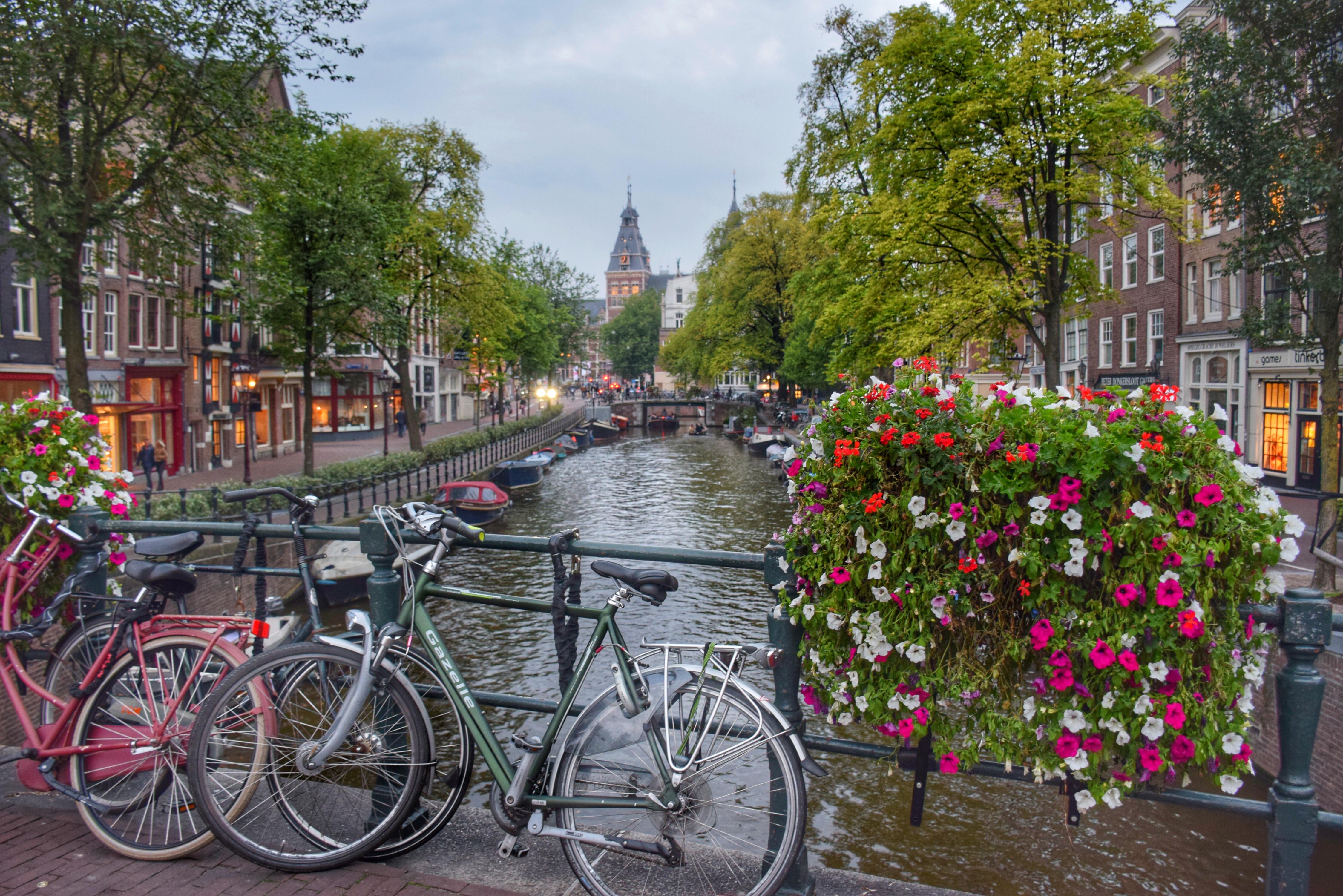 Fofos canais de Amsterdam...