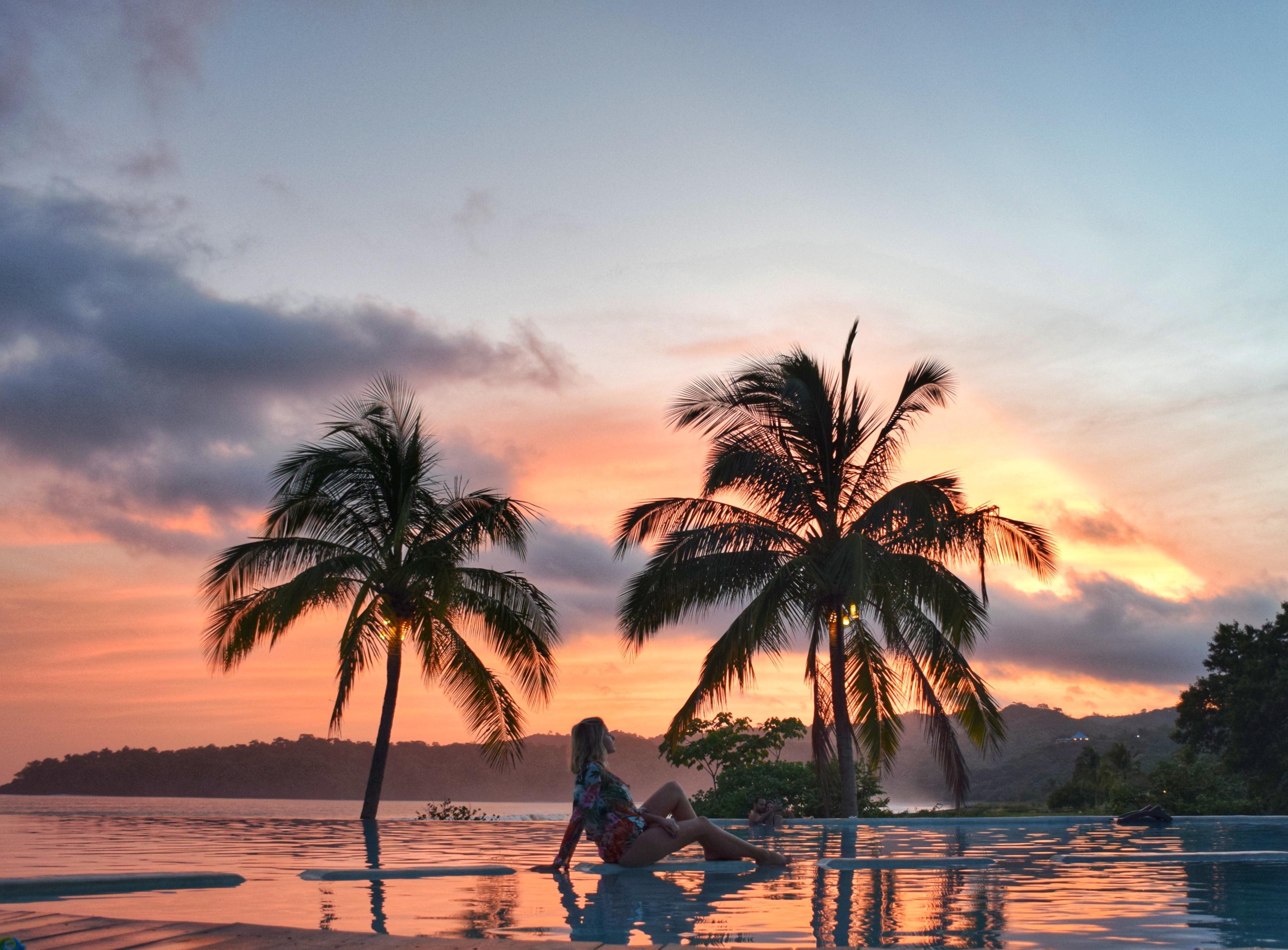 Por dol sol lindíssimo - Playa Venao - Panamá