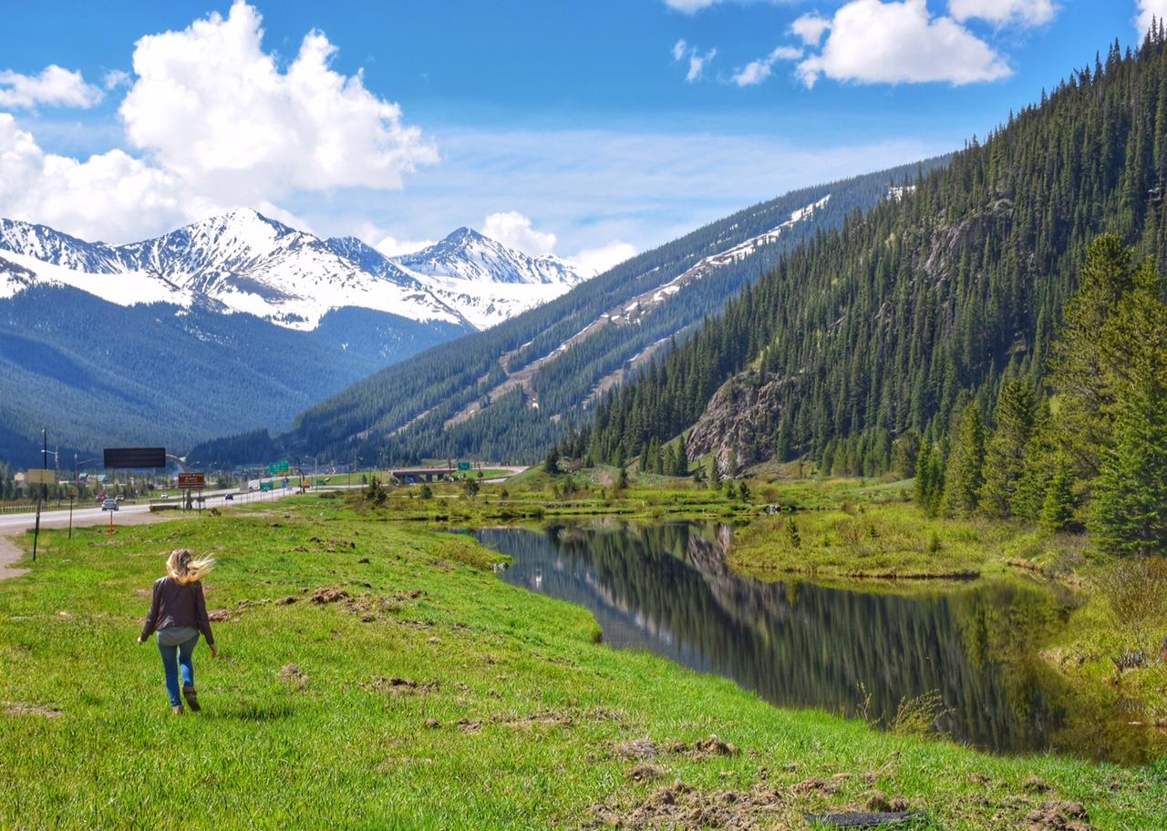 A caminho de Vail, no Colorado - Estados Unidos