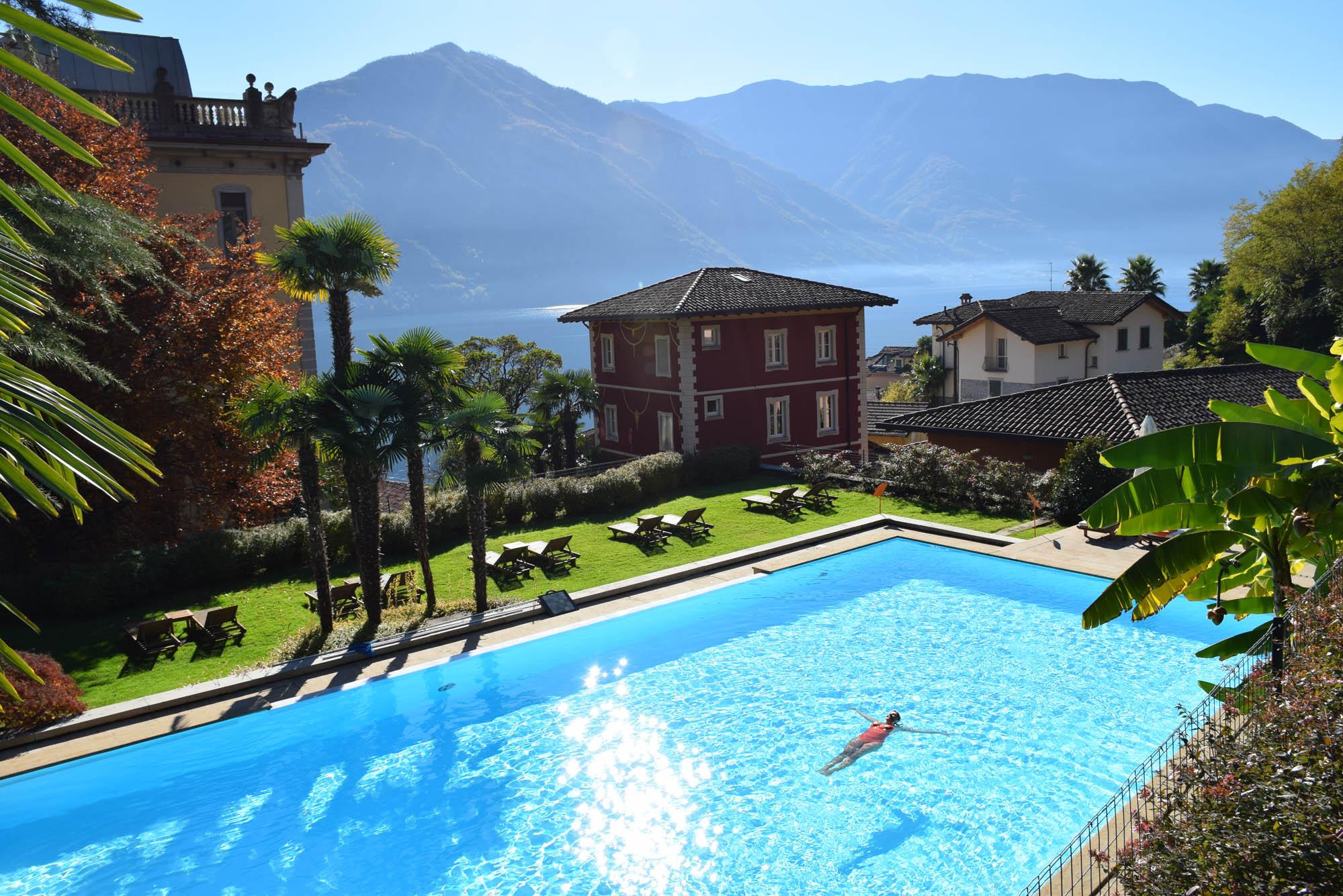 Piscina Dei Fiori - Grand Hotel Tremezzo - Lago di Como - Itália