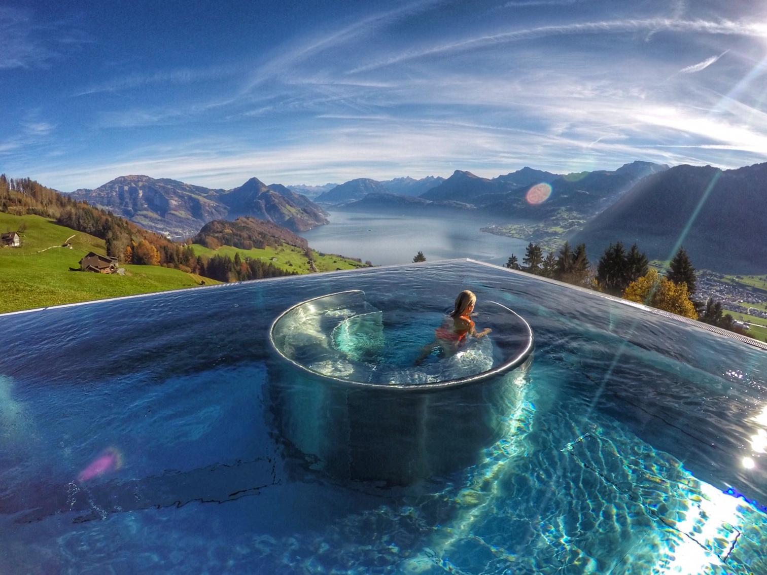 Hotel Villa Honegg dedans hotel villa honegg - suíça - lago lucerna | lala rebelo