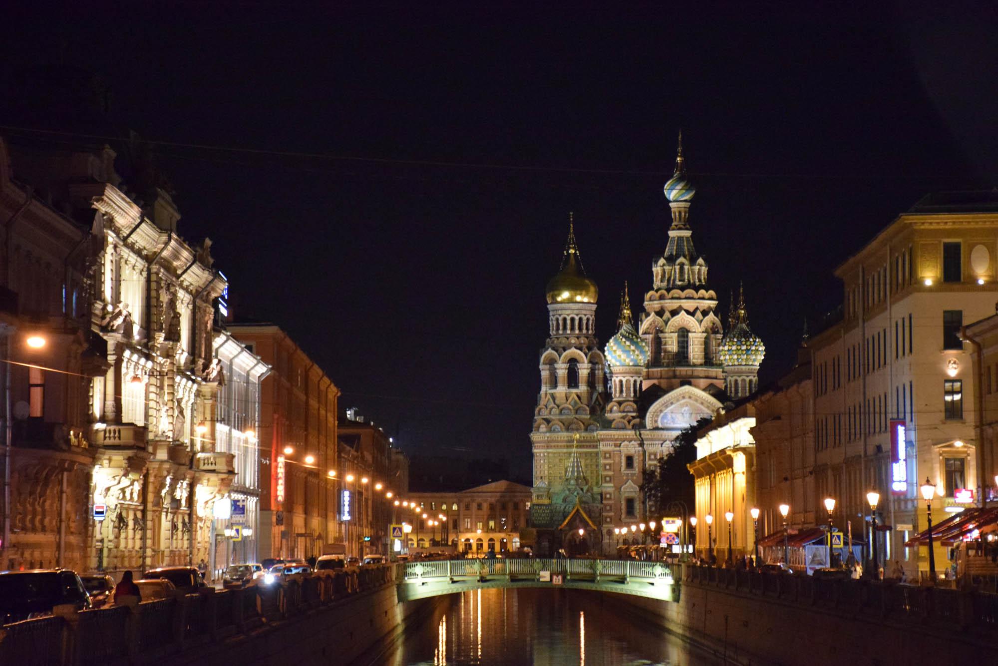 A Igreja do Sangue Derramado - São Petersburgo - Rússia