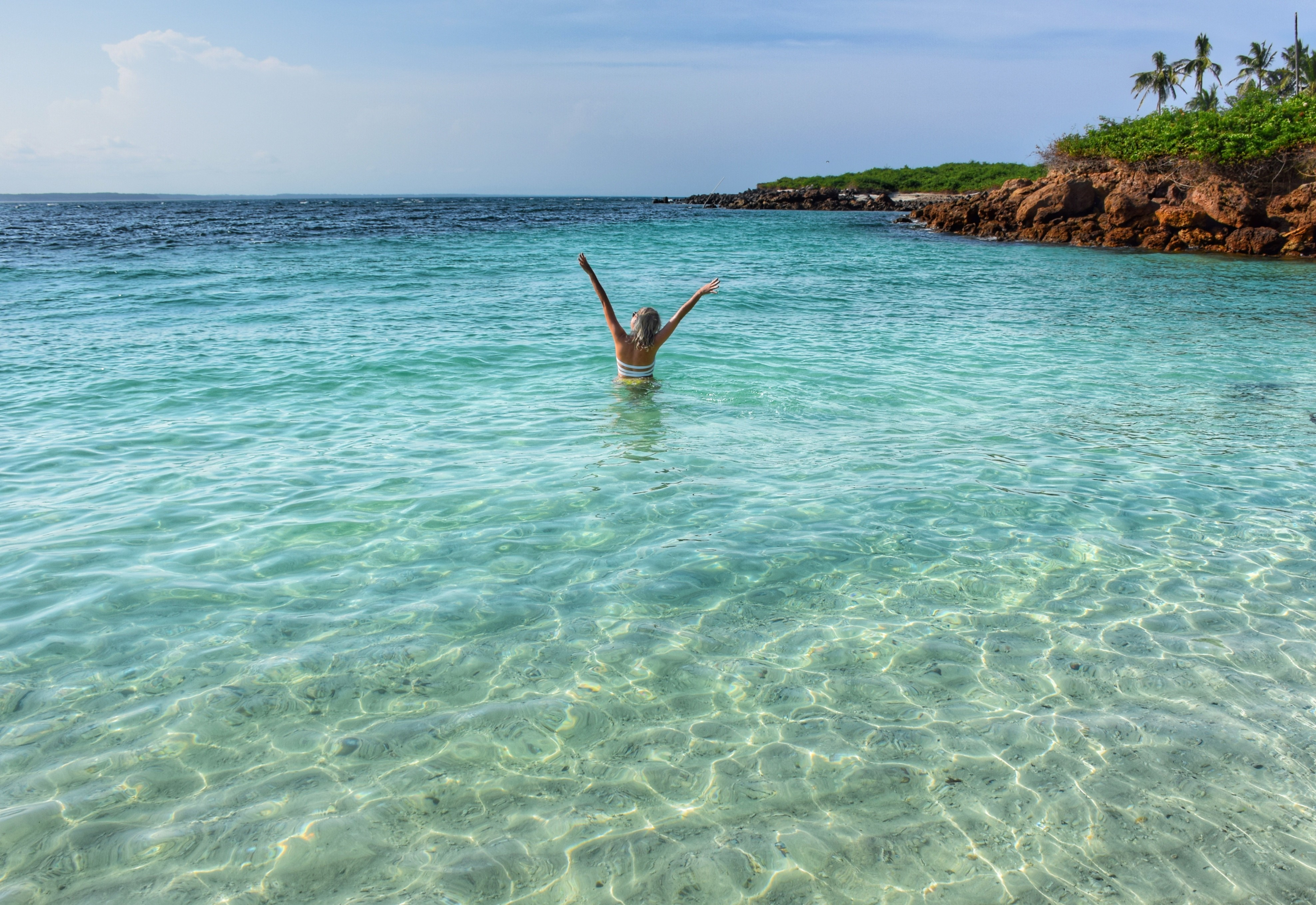 Tão azul que até parece Caribe | Isla Iguana - Pedasí - Panamá