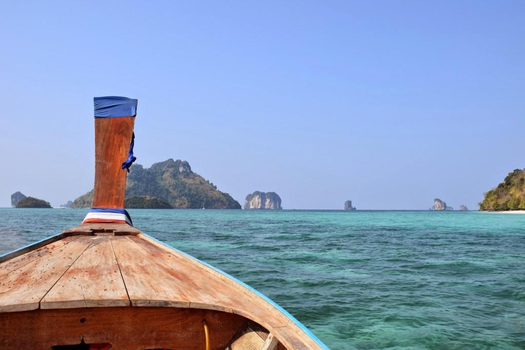 A caminho de Koh Phi Phi - Tailândia